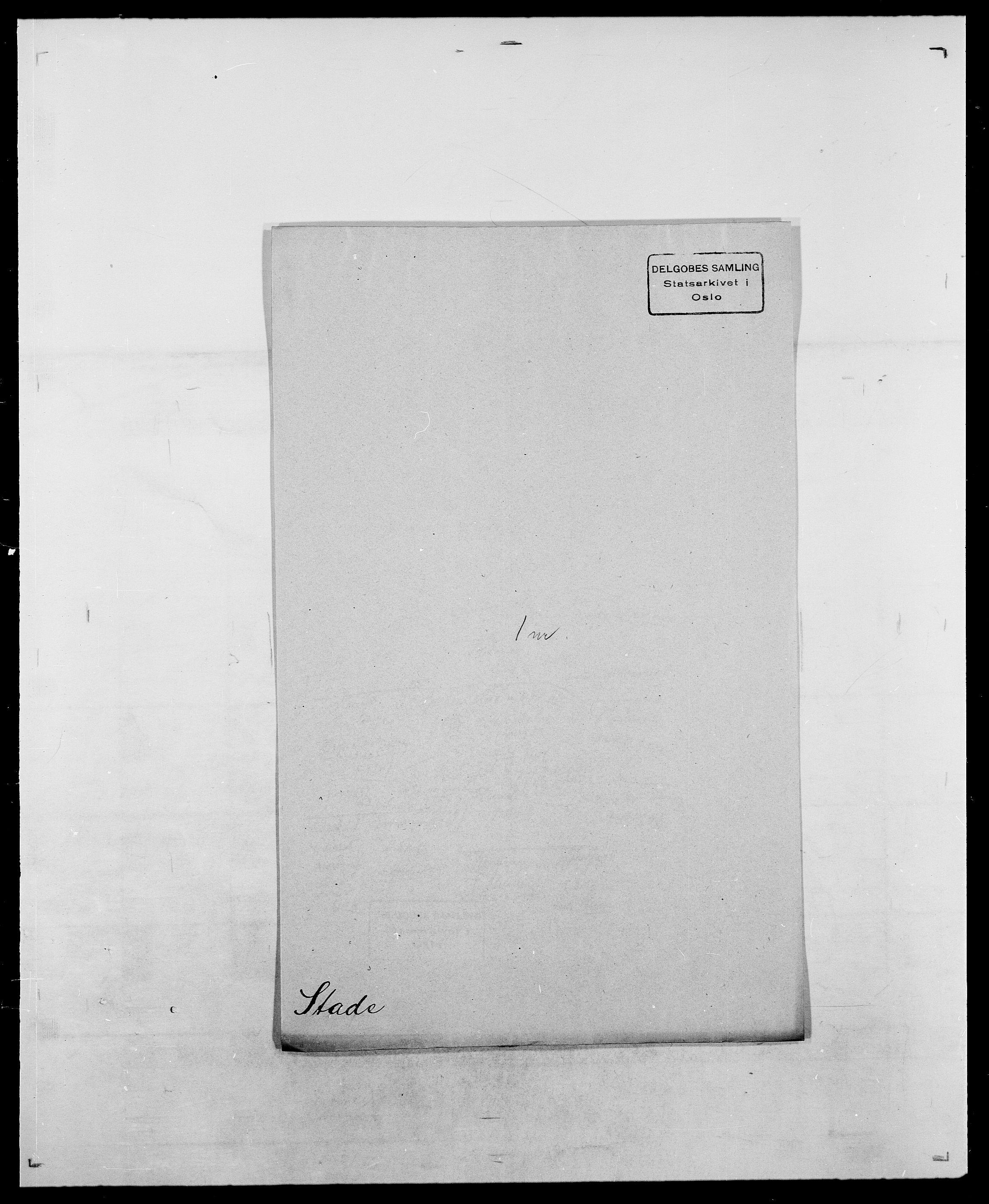 SAO, Delgobe, Charles Antoine - samling, D/Da/L0036: Skaanør - Staverskov, s. 918