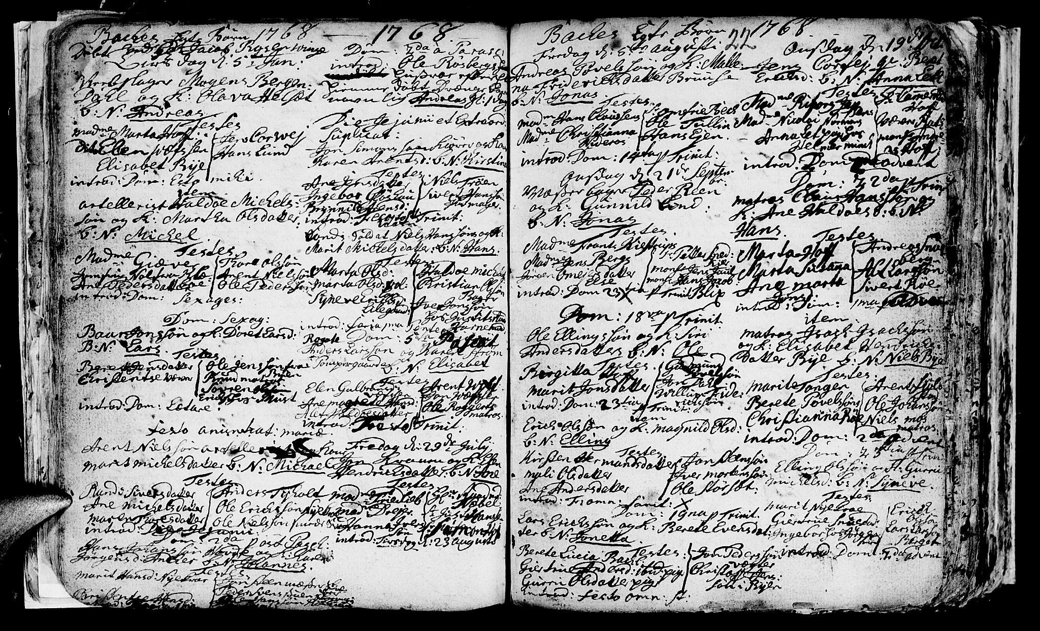 SAT, Ministerialprotokoller, klokkerbøker og fødselsregistre - Sør-Trøndelag, 604/L0218: Klokkerbok nr. 604C01, 1754-1819, s. 22