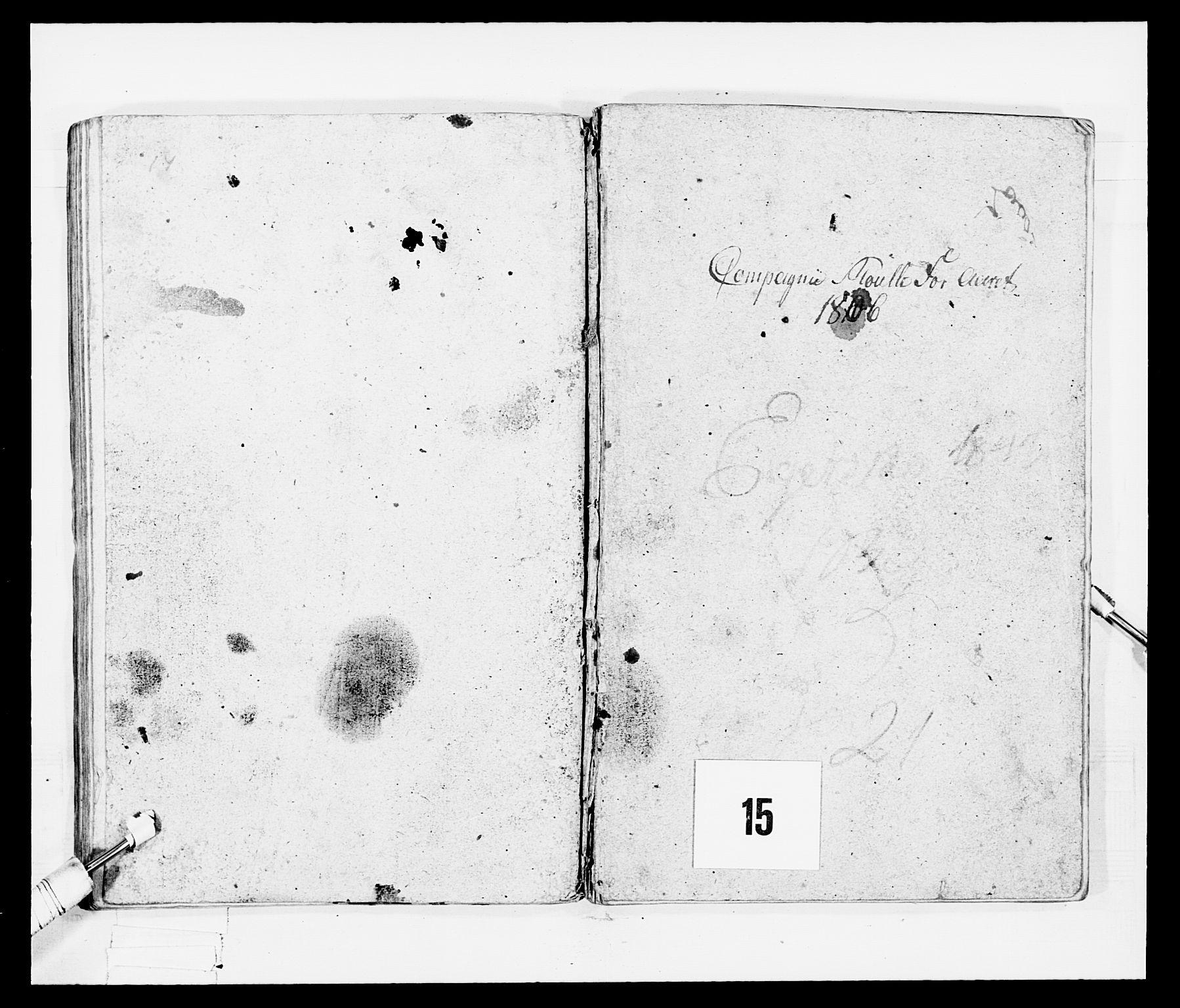 RA, Generalitets- og kommissariatskollegiet, Det kongelige norske kommissariatskollegium, E/Eh/L0047: 2. Akershusiske nasjonale infanteriregiment, 1791-1810, s. 355