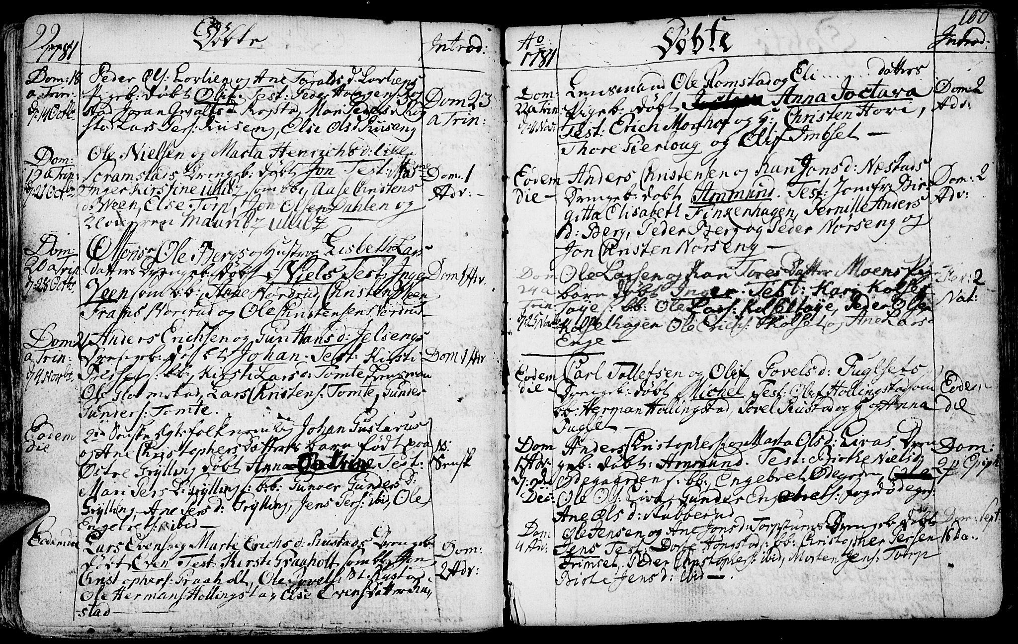 SAH, Løten prestekontor, K/Ka/L0003: Ministerialbok nr. 3, 1773-1800, s. 99-100