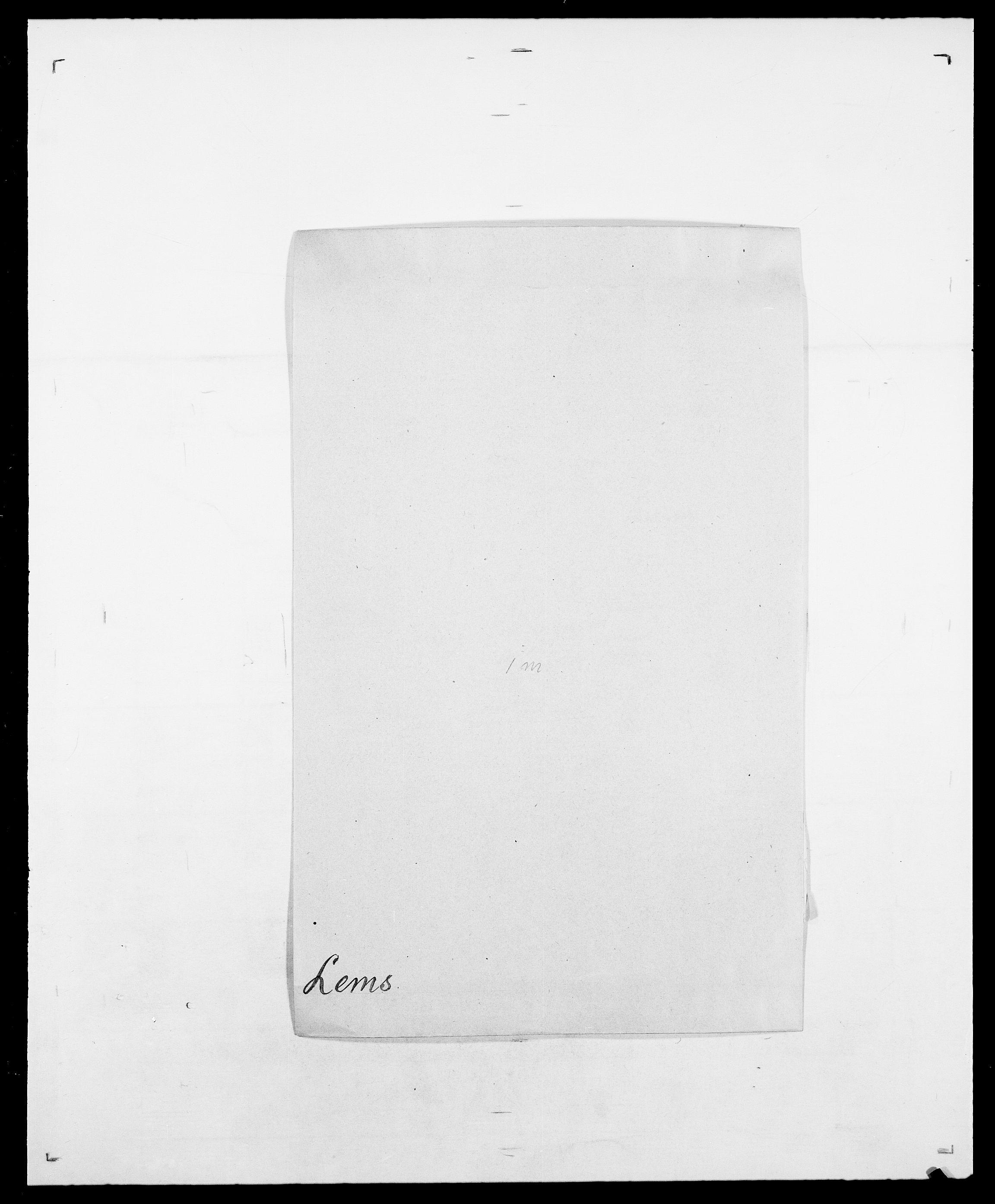 SAO, Delgobe, Charles Antoine - samling, D/Da/L0023: Lau - Lirvyn, s. 196