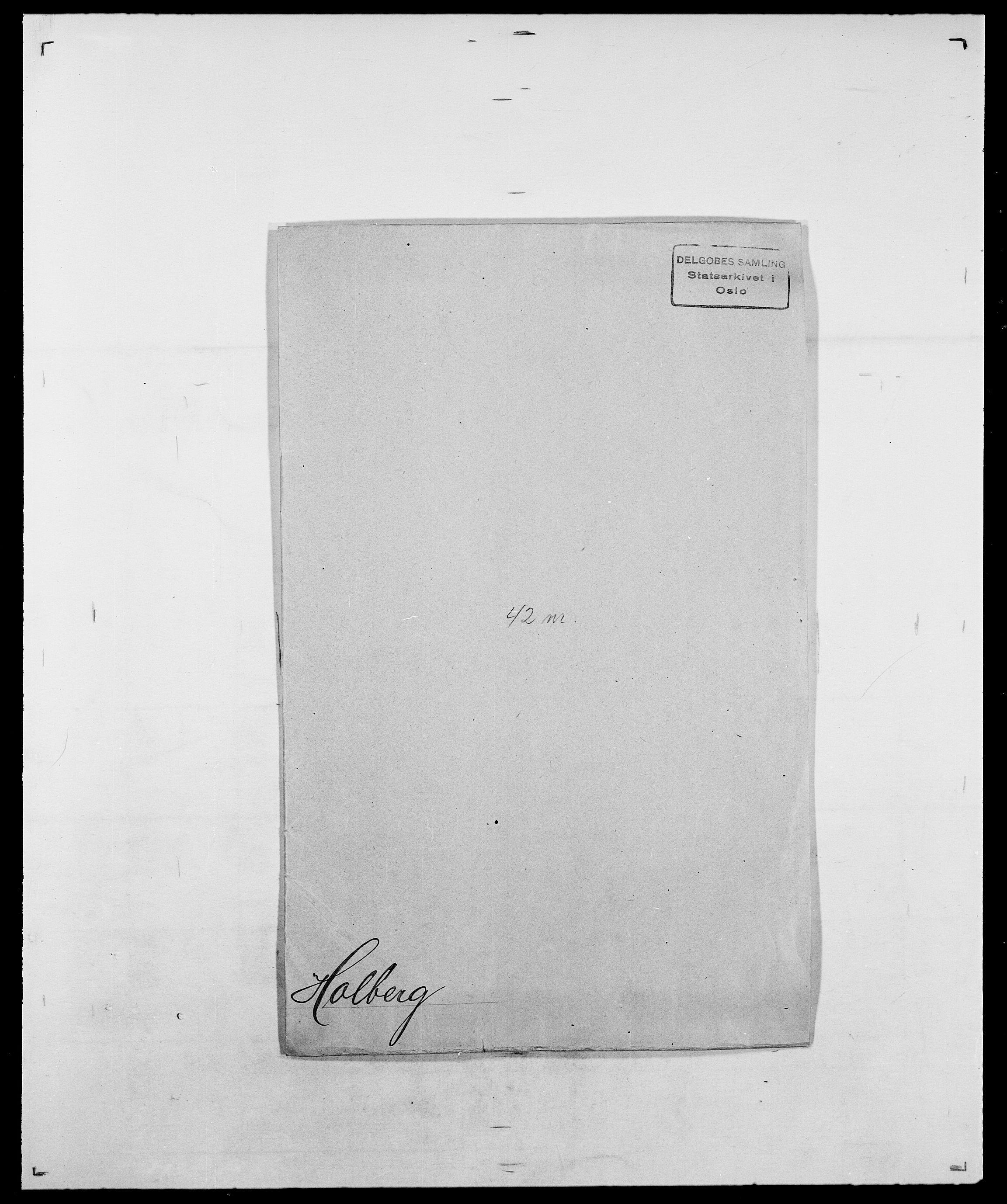 SAO, Delgobe, Charles Antoine - samling, D/Da/L0018: Hoch - Howert, s. 160