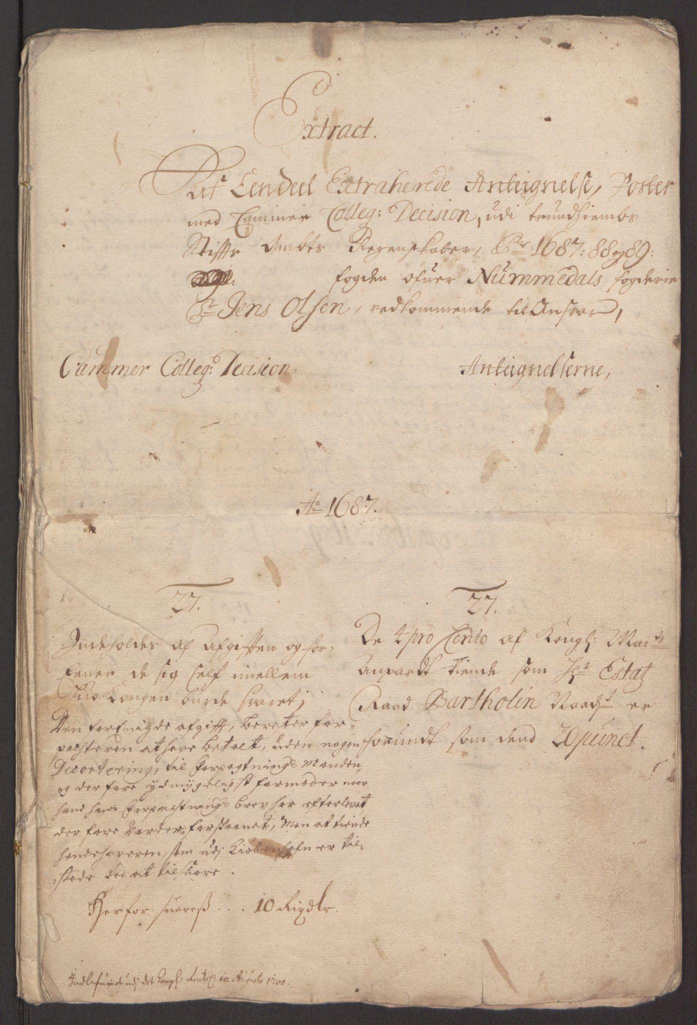 RA, Rentekammeret inntil 1814, Reviderte regnskaper, Fogderegnskap, R64/L4424: Fogderegnskap Namdal, 1692-1695, s. 177
