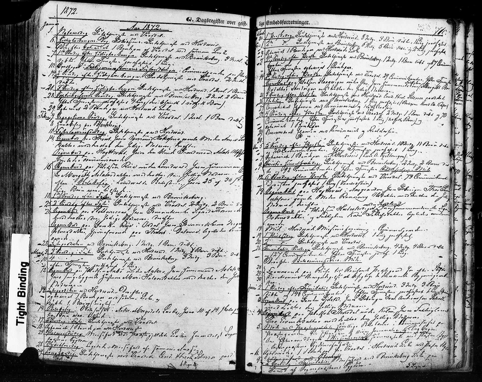 SAKO, Kviteseid kirkebøker, F/Fa/L0007: Ministerialbok nr. I 7, 1859-1881, s. 710