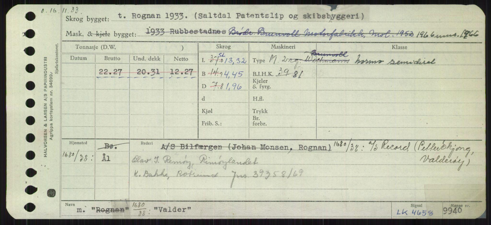 RA, Sjøfartsdirektoratet med forløpere, Skipsmålingen, H/Ha/L0006: Fartøy, Sver-Å, s. 107