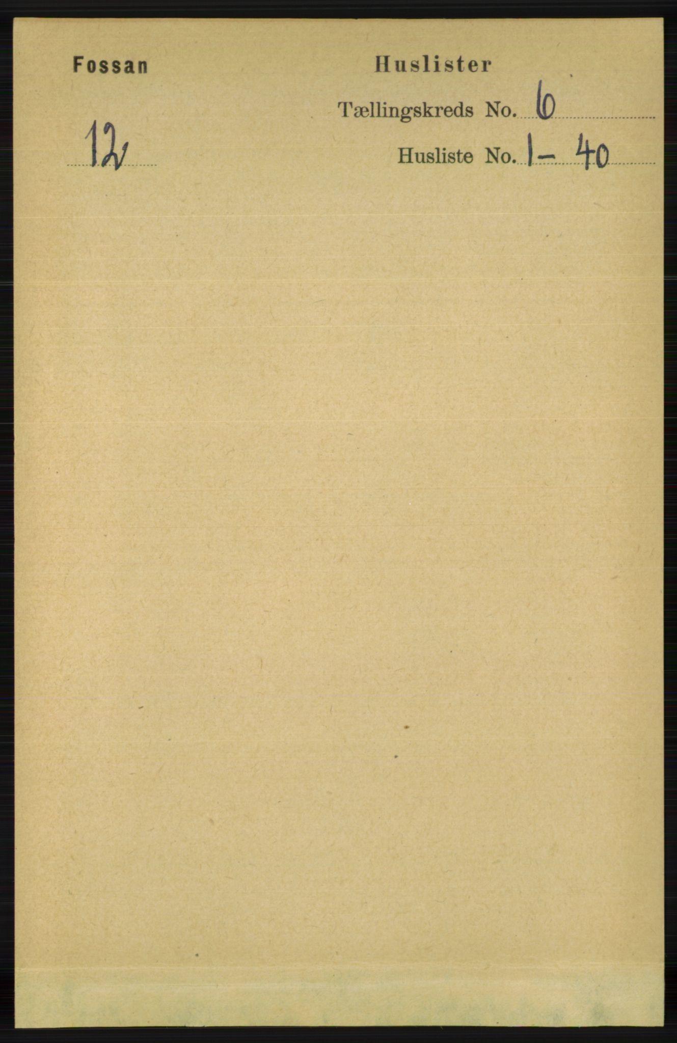 RA, Folketelling 1891 for 1129 Forsand herred, 1891, s. 899