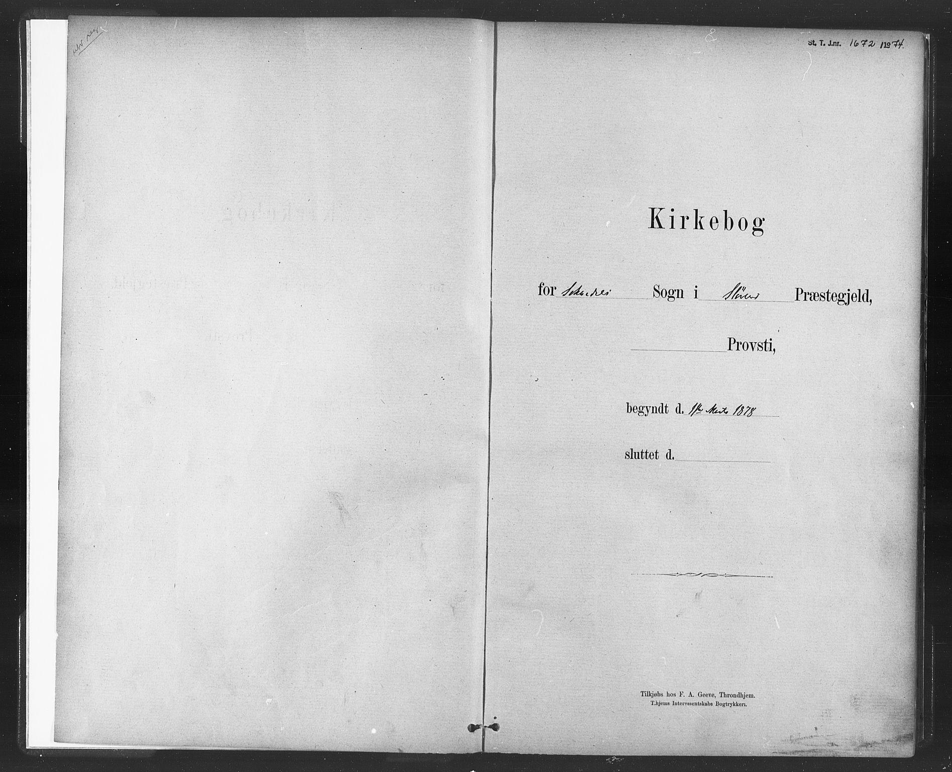 SAT, Ministerialprotokoller, klokkerbøker og fødselsregistre - Sør-Trøndelag, 689/L1040: Ministerialbok nr. 689A05, 1878-1890