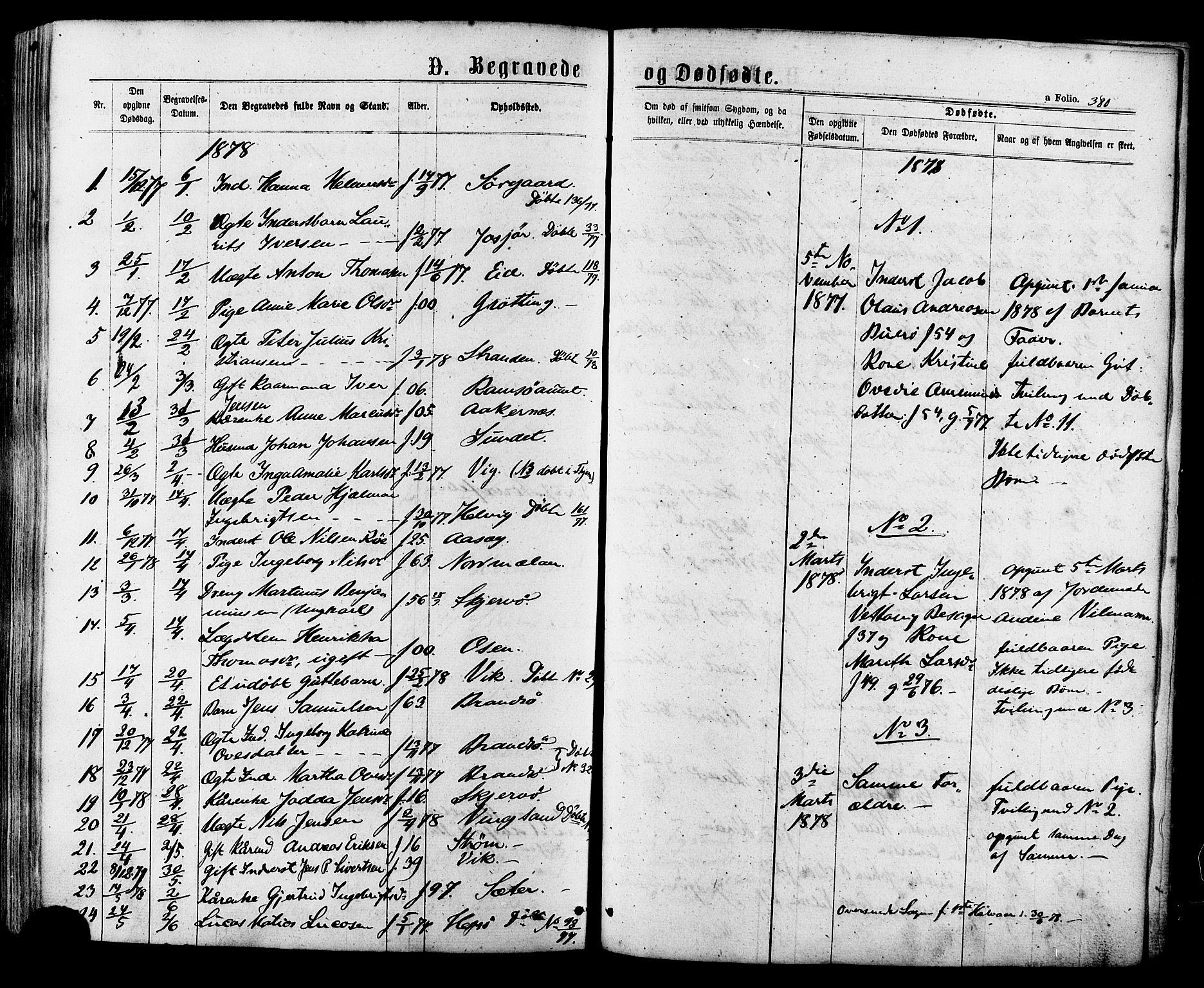 SAT, Ministerialprotokoller, klokkerbøker og fødselsregistre - Sør-Trøndelag, 657/L0706: Ministerialbok nr. 657A07, 1867-1878, s. 380