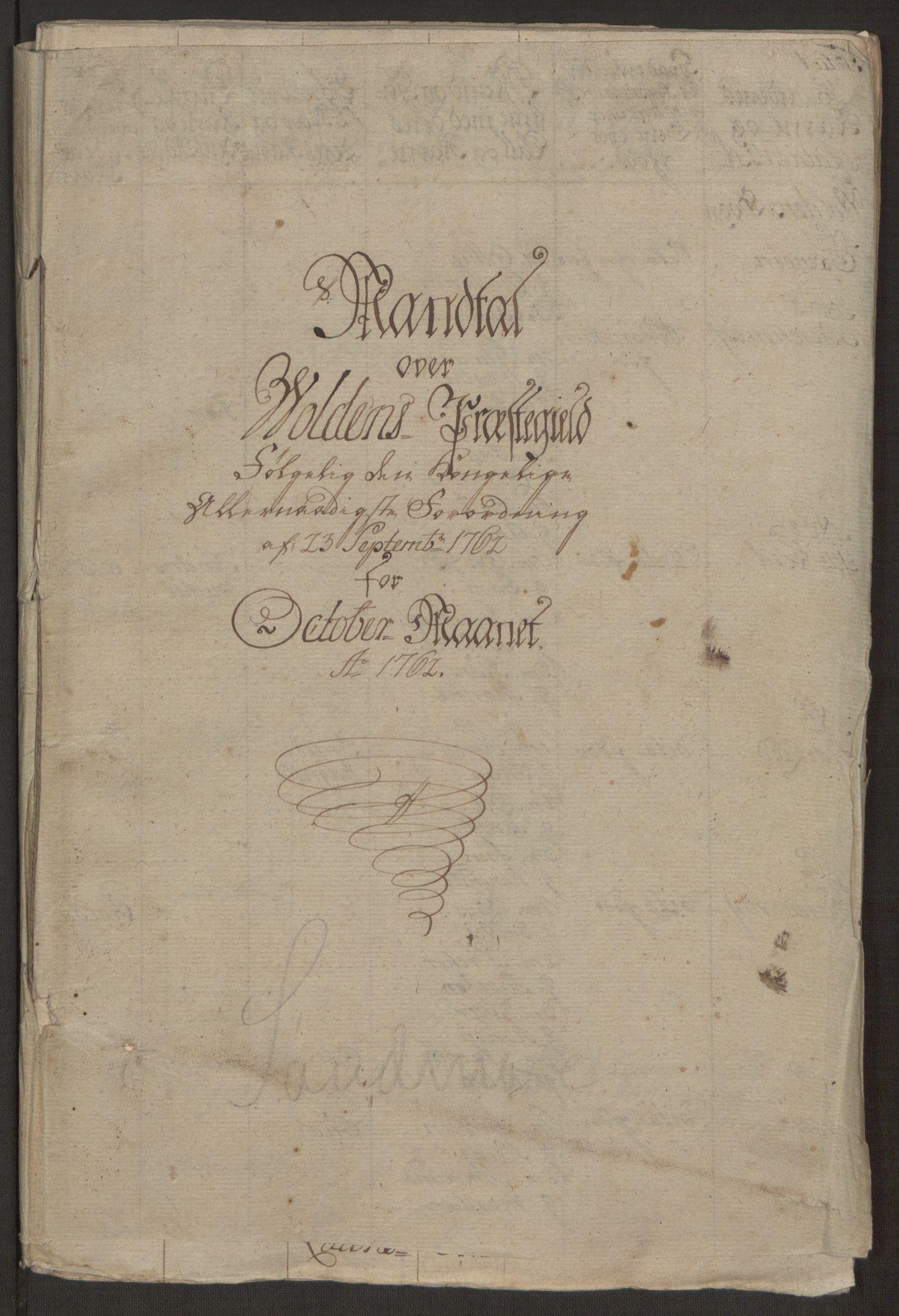 RA, Rentekammeret inntil 1814, Realistisk ordnet avdeling, Ol/L0019: [Gg 10]: Ekstraskatten, 23.09.1762. Sunnmøre, 1762-1763, s. 294