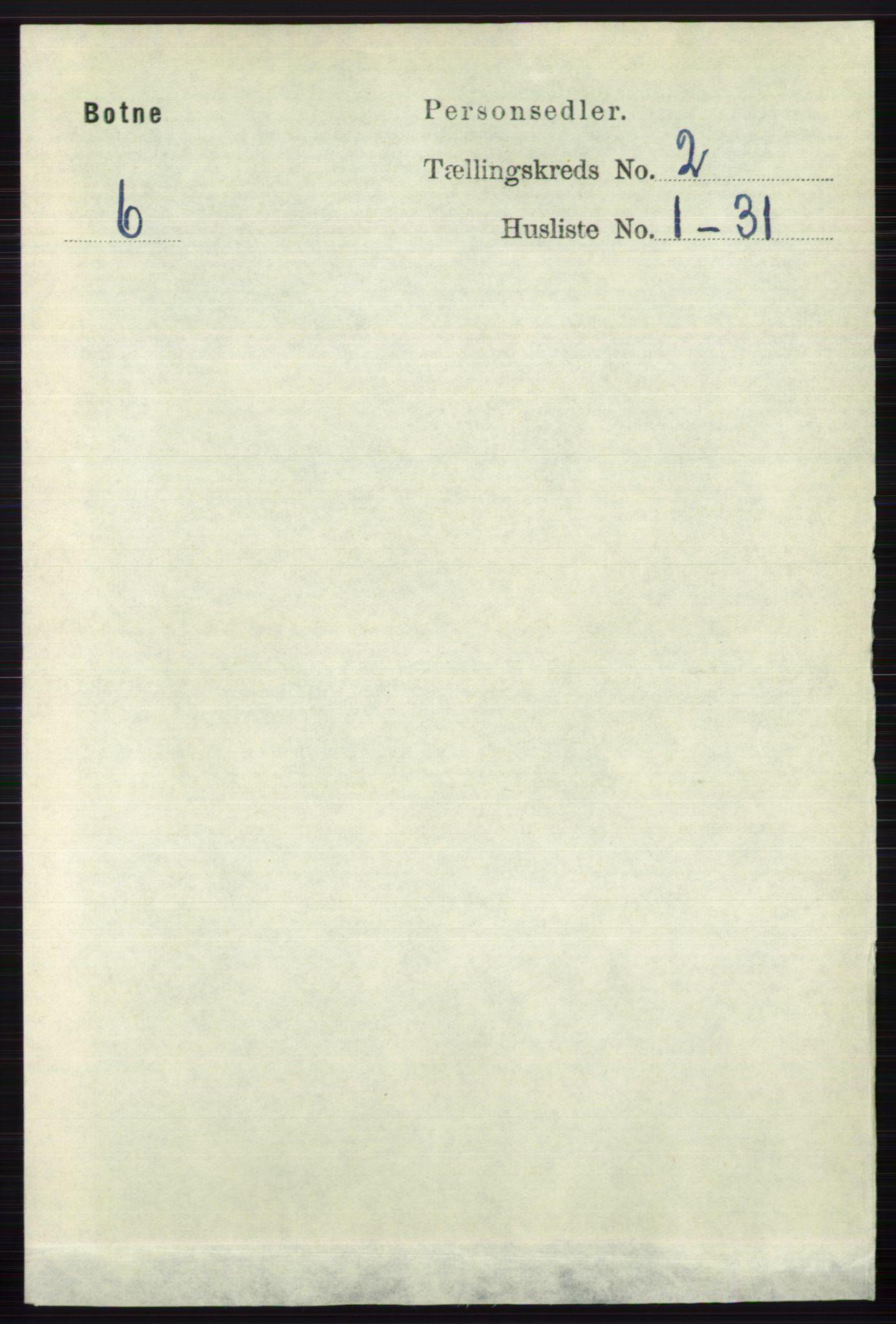 RA, Folketelling 1891 for 0715 Botne herred, 1891, s. 673