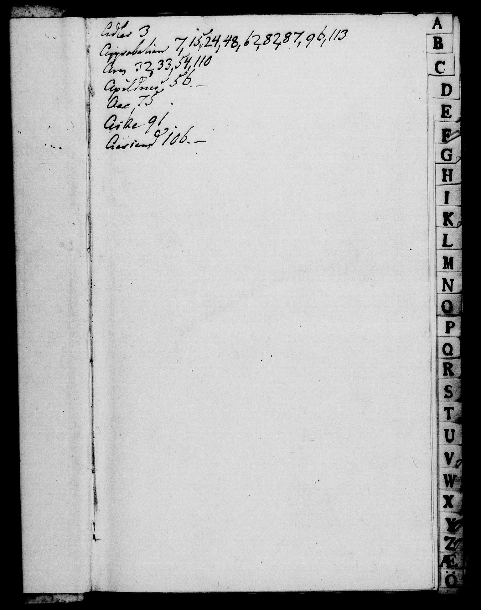 RA, Rentekammeret, Kammerkanselliet, G/Gf/Gfa/L0070: Norsk relasjons- og resolusjonsprotokoll (merket RK 52.70), 1788, s. 3
