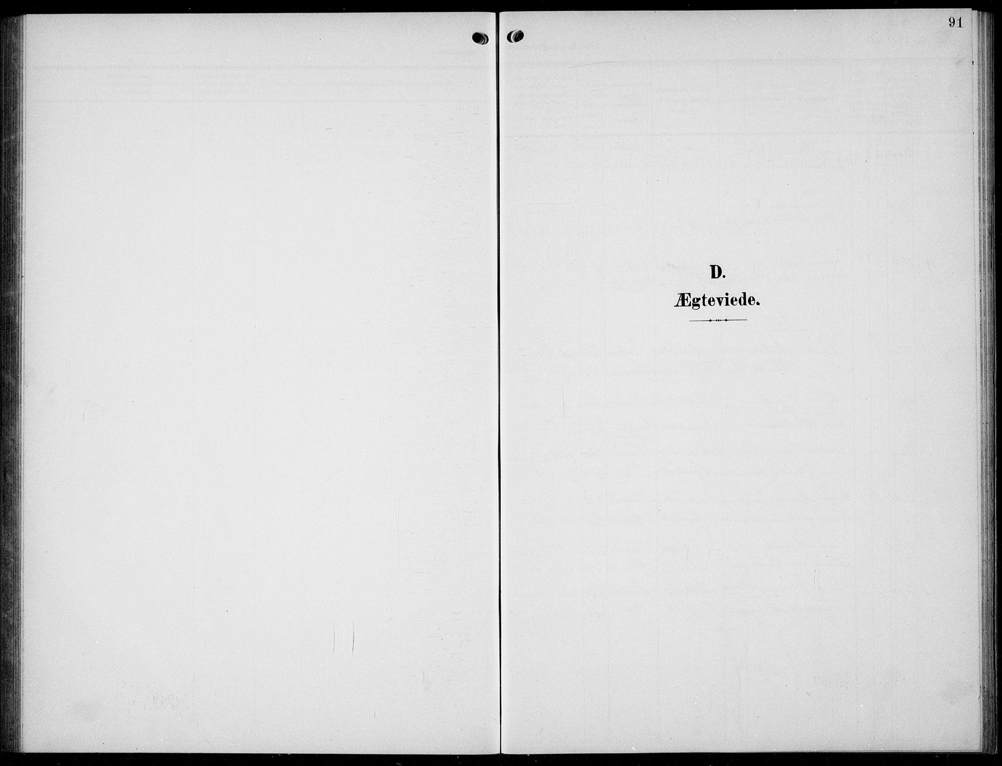 SAKO, Solum kirkebøker, G/Gc/L0002: Klokkerbok nr. III 2, 1902-1934, s. 91