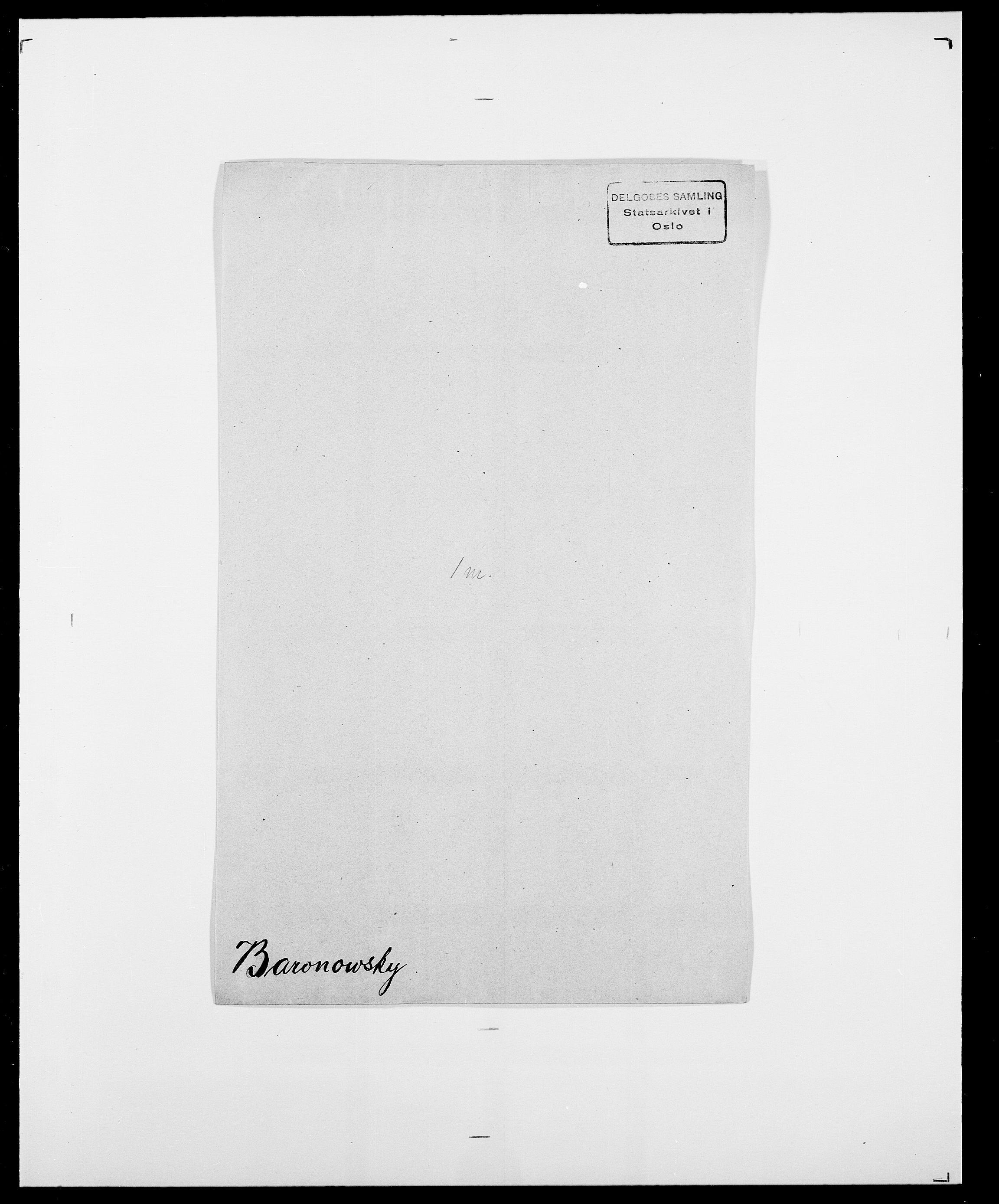 SAO, Delgobe, Charles Antoine - samling, D/Da/L0003: Barca - Bergen, s. 363