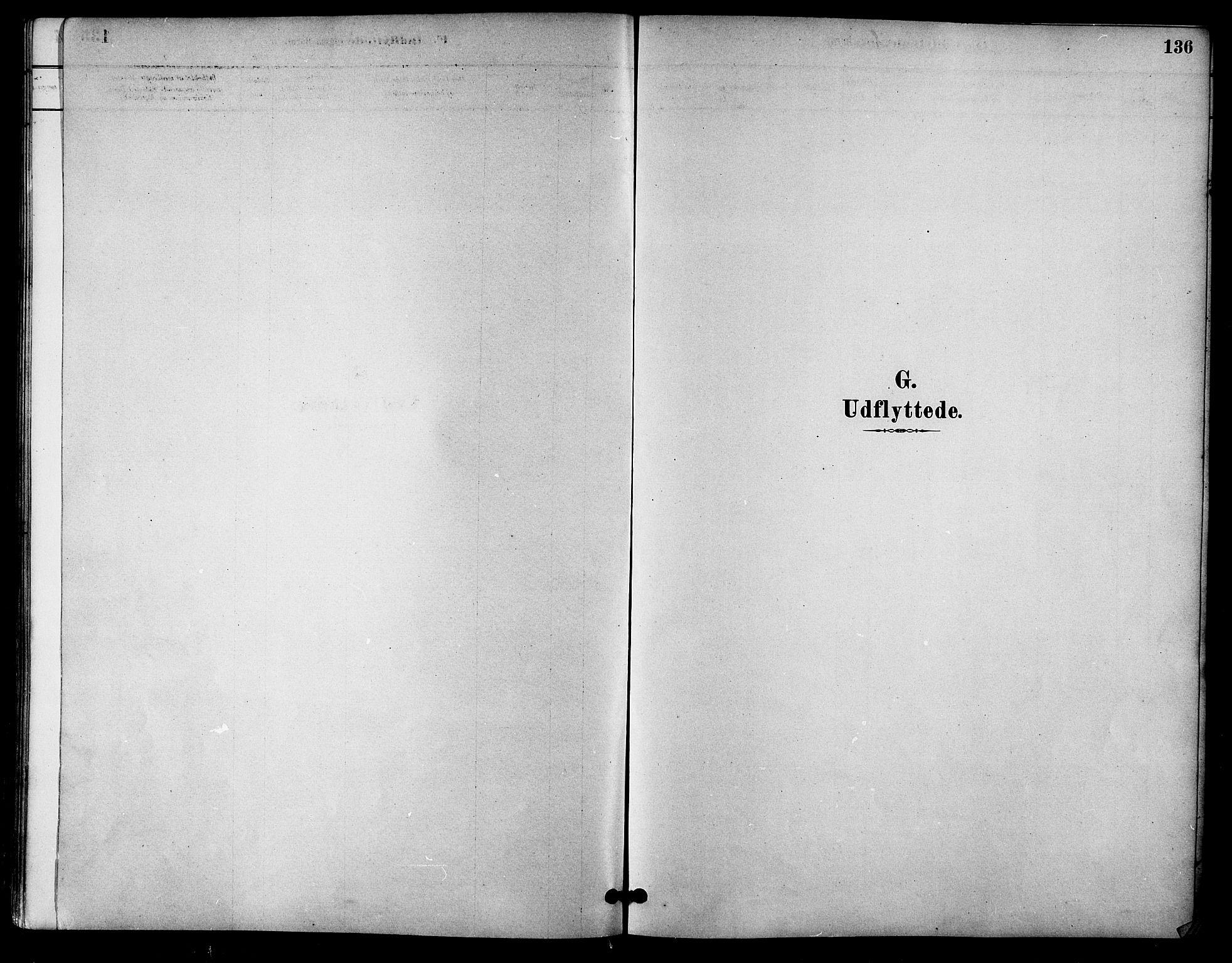 SAT, Ministerialprotokoller, klokkerbøker og fødselsregistre - Sør-Trøndelag, 618/L0444: Ministerialbok nr. 618A07, 1880-1898, s. 136