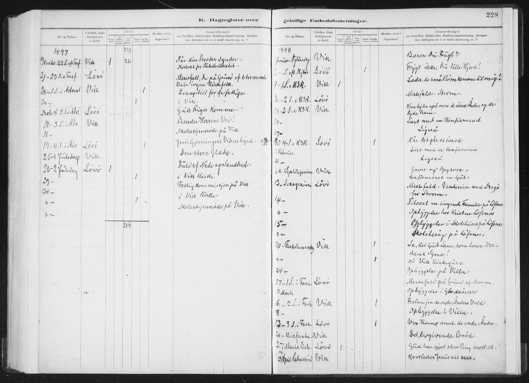 SAT, Ministerialprotokoller, klokkerbøker og fødselsregistre - Nord-Trøndelag, 771/L0597: Ministerialbok nr. 771A04, 1885-1910, s. 228