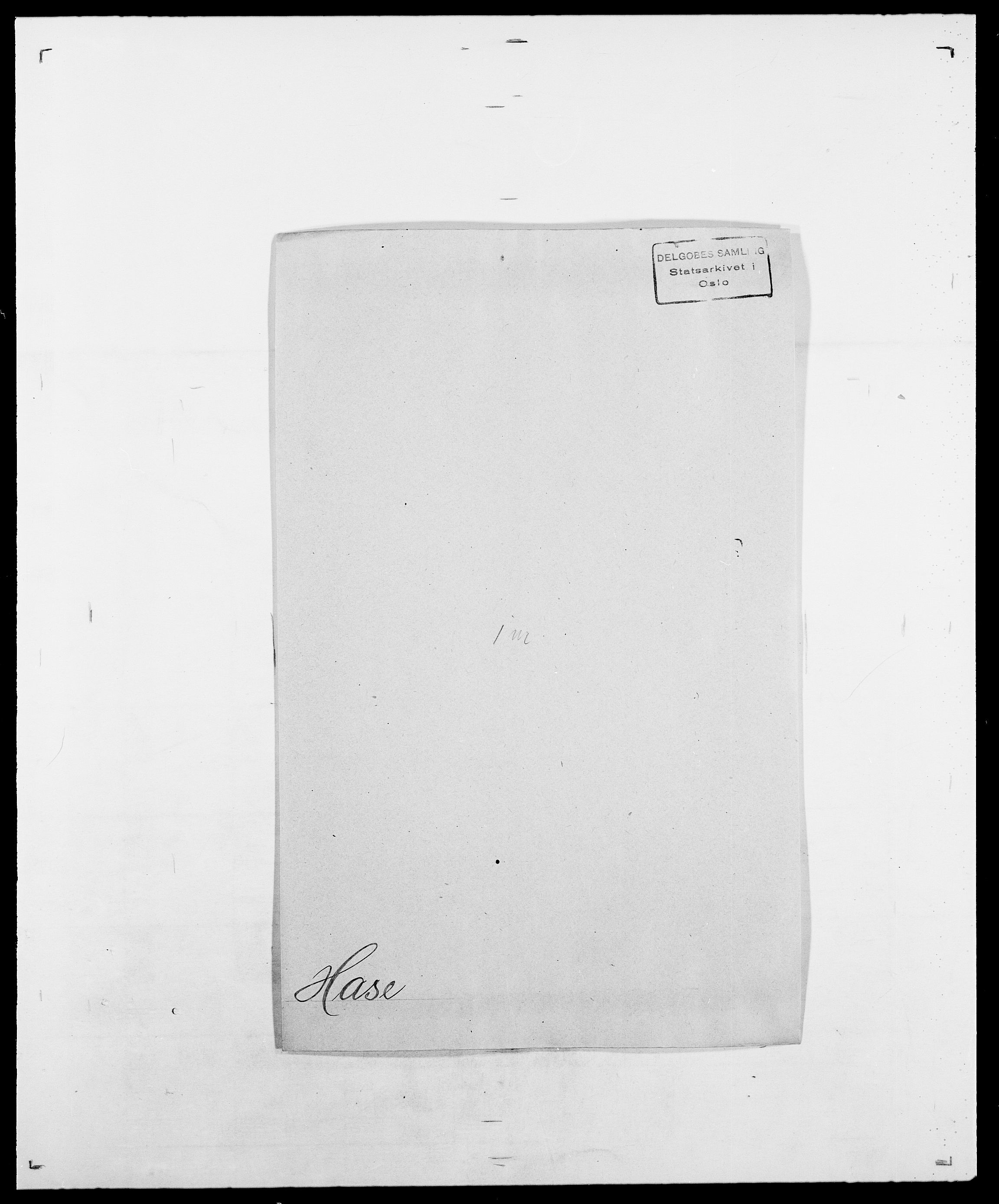 SAO, Delgobe, Charles Antoine - samling, D/Da/L0016: Hamborg - Hektoen, s. 474