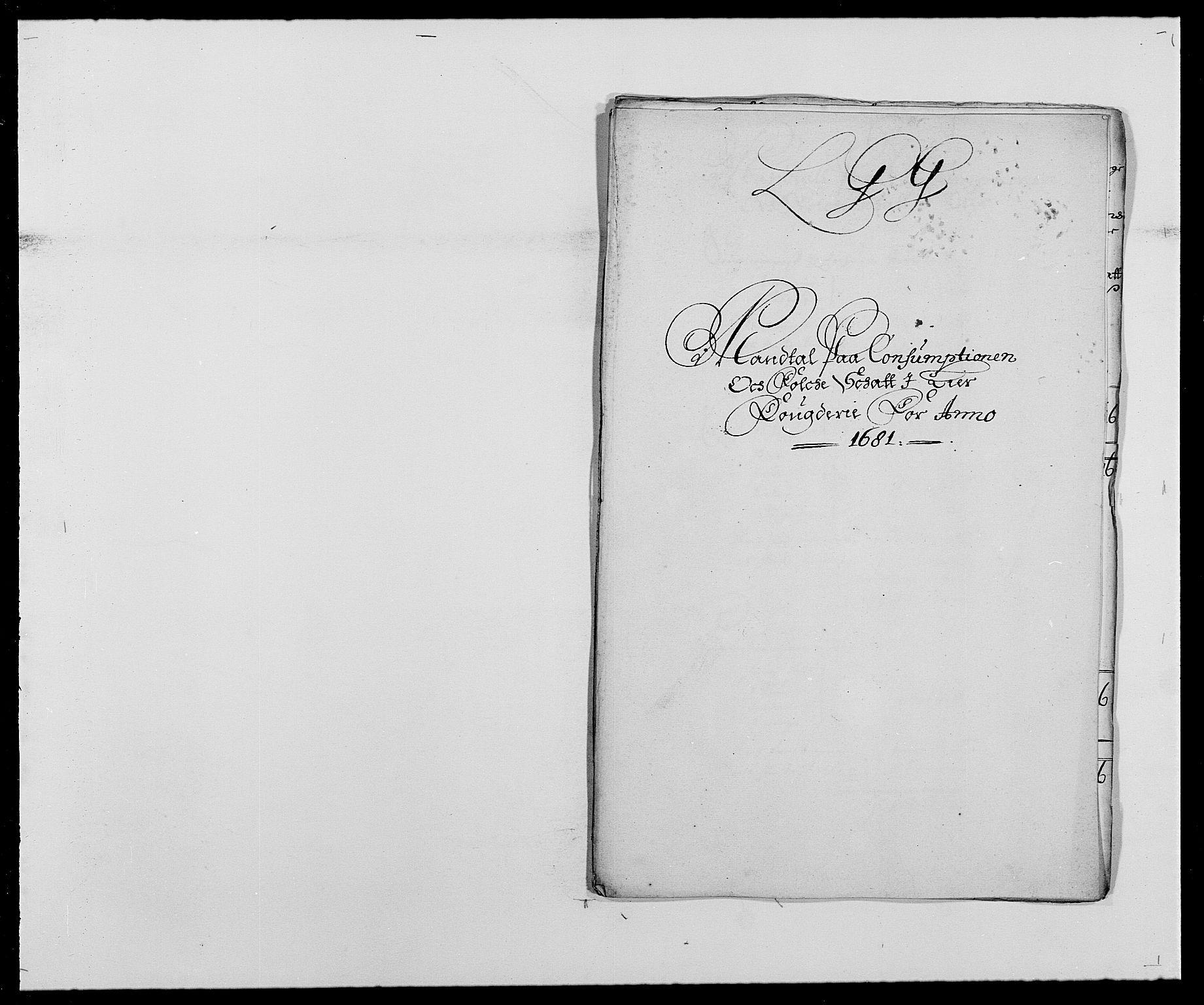 RA, Rentekammeret inntil 1814, Reviderte regnskaper, Fogderegnskap, R27/L1686: Fogderegnskap Lier, 1678-1686, s. 359