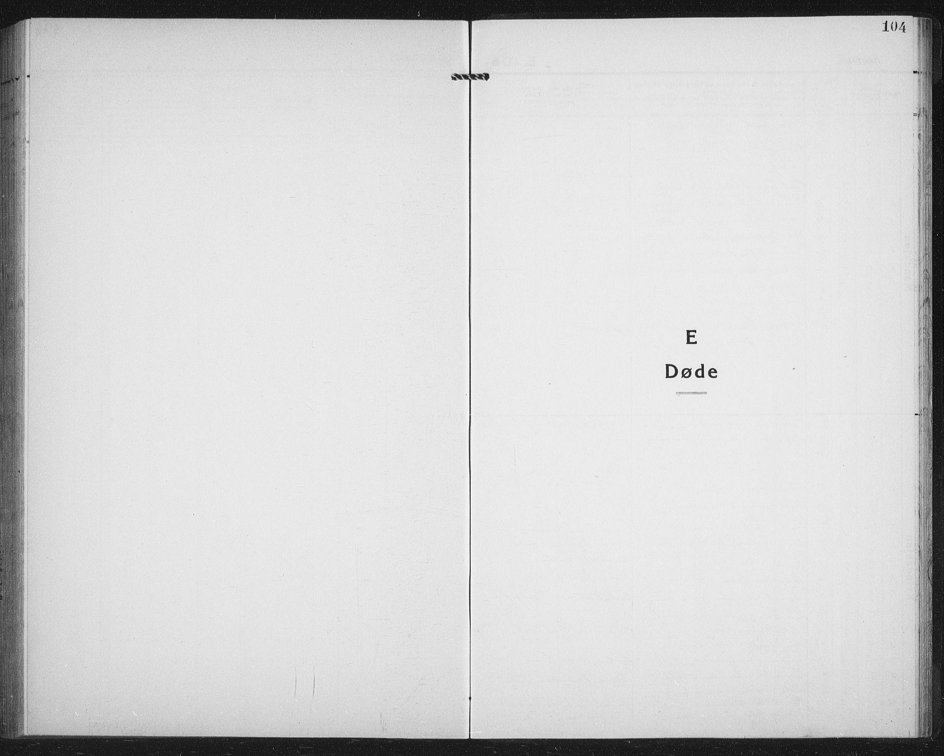 SATØ, Lenvik sokneprestembete, H/Ha/Hab/L0023klokker: Klokkerbok nr. 23, 1918-1936, s. 104