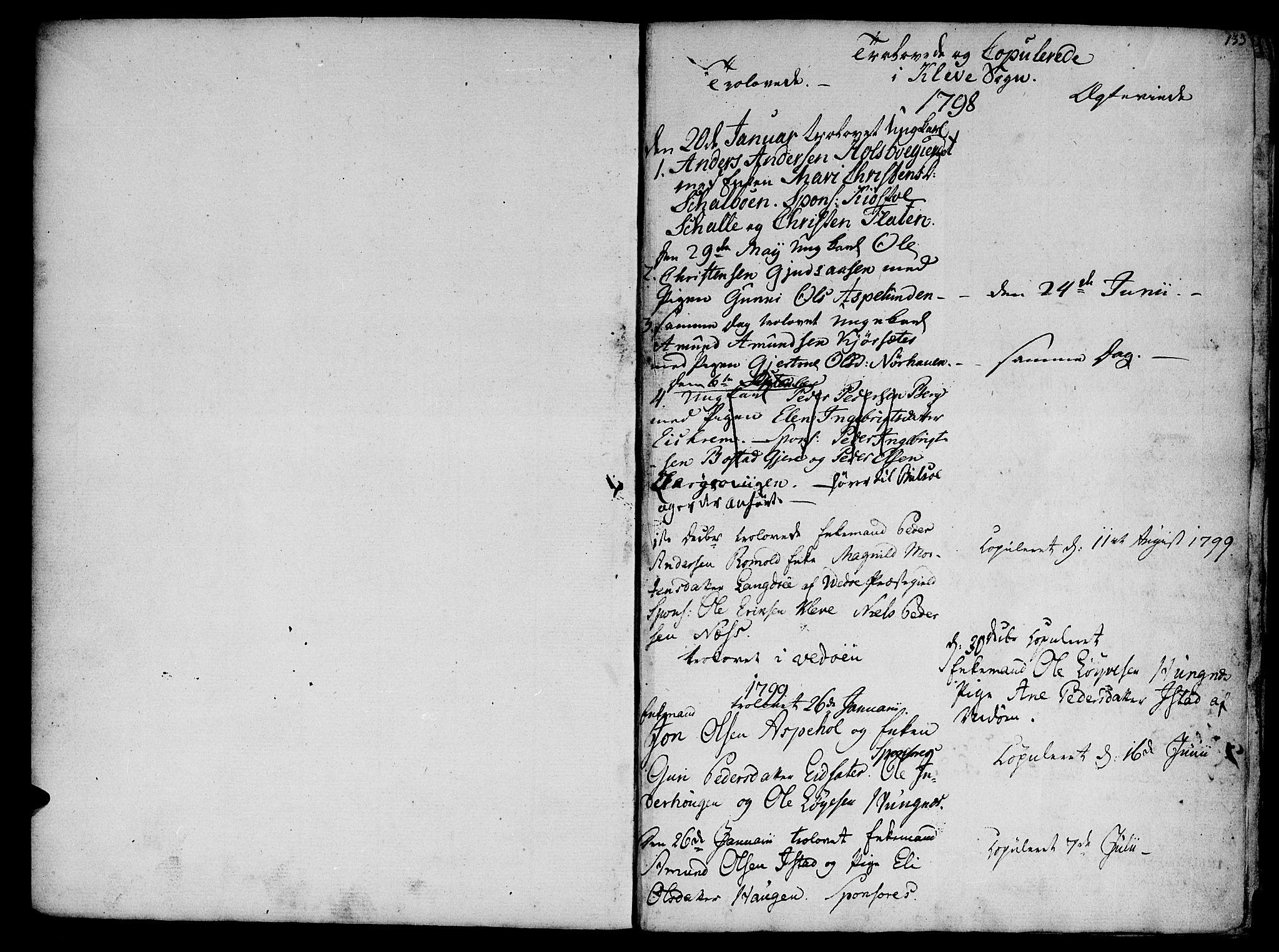SAT, Ministerialprotokoller, klokkerbøker og fødselsregistre - Møre og Romsdal, 555/L0650: Ministerialbok nr. 555A02 /2, 1798-1821, s. 133