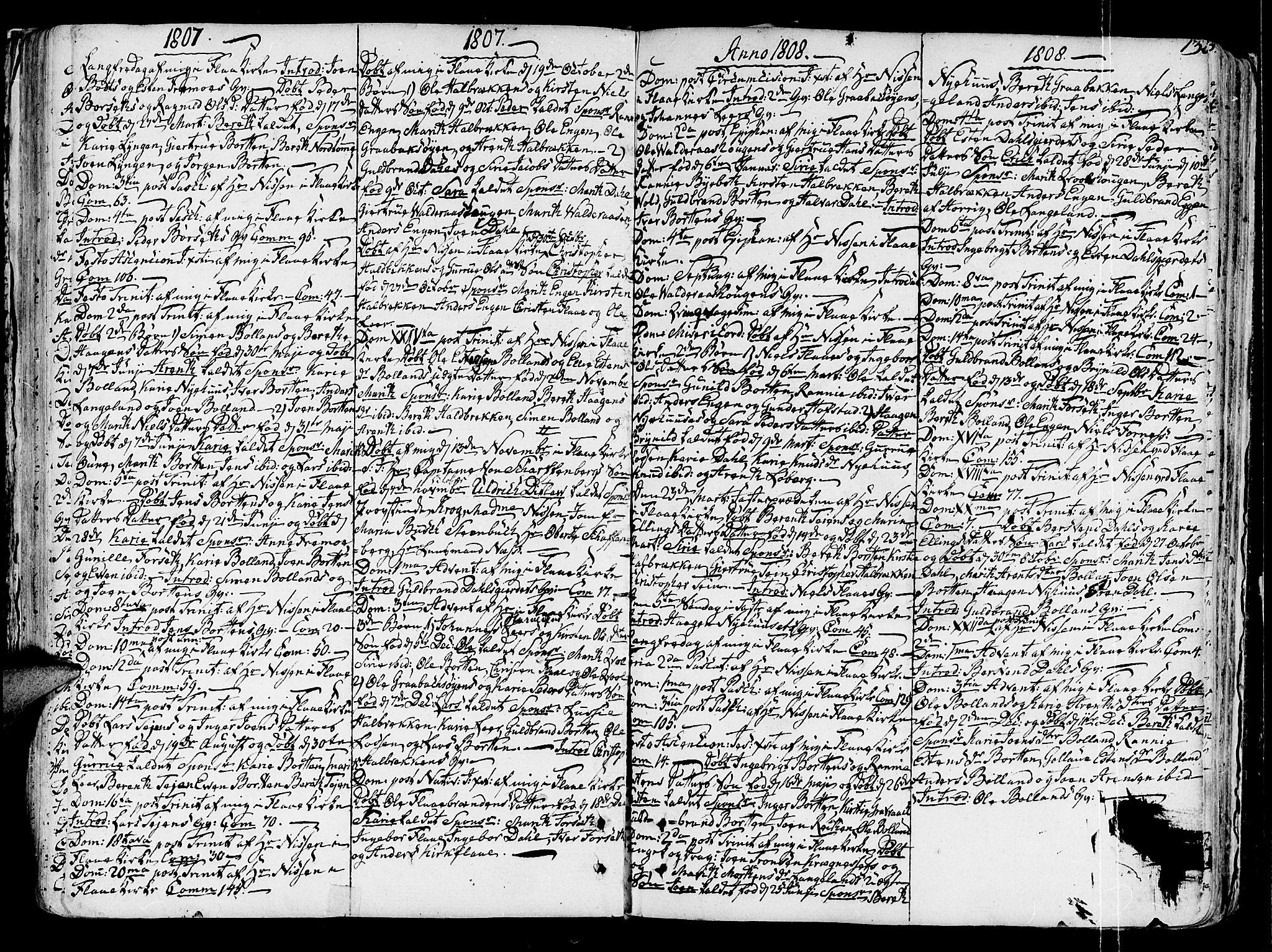 SAT, Ministerialprotokoller, klokkerbøker og fødselsregistre - Sør-Trøndelag, 691/L1062: Ministerialbok nr. 691A02 /2, 1768-1815, s. 132