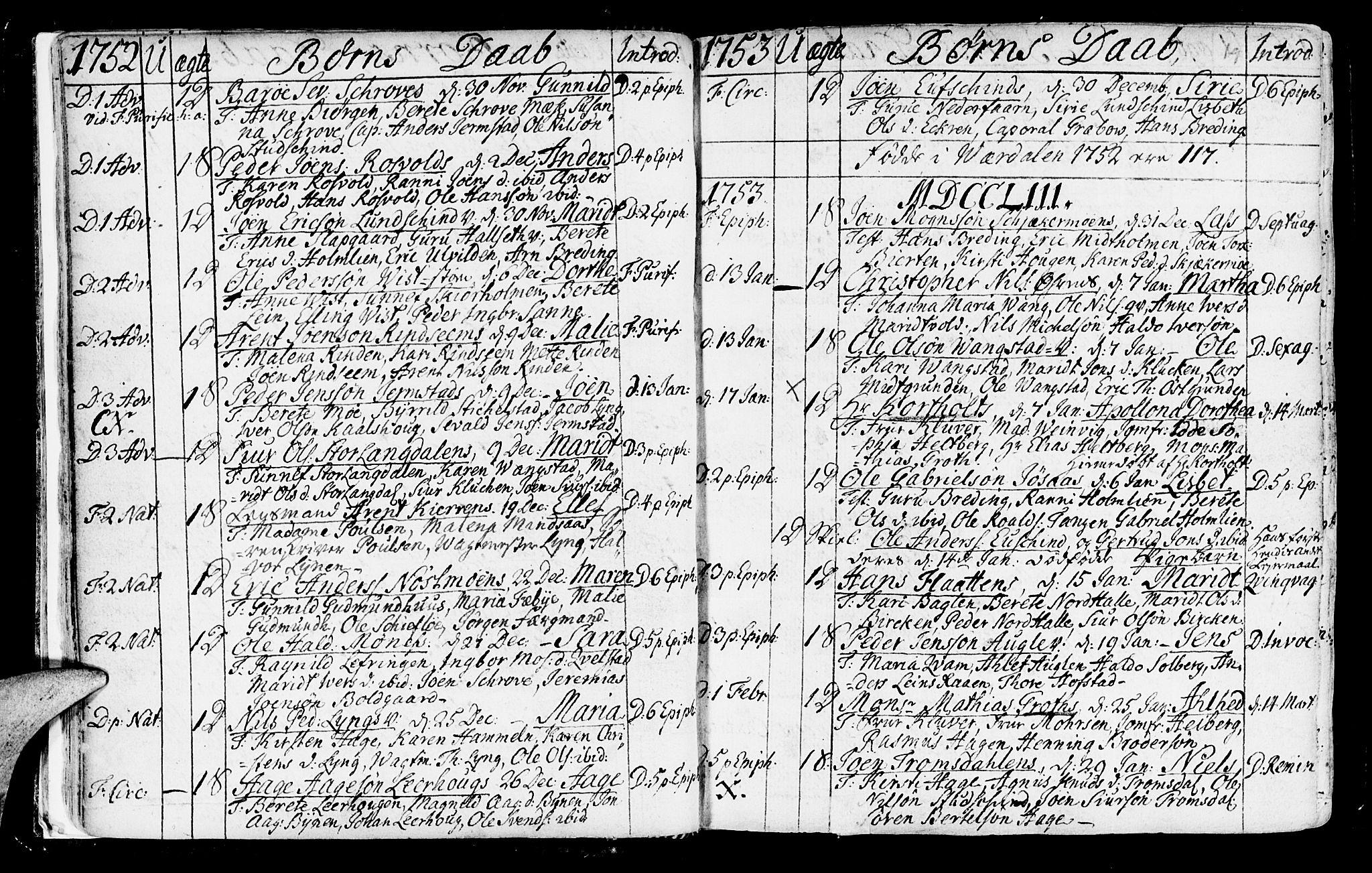 SAT, Ministerialprotokoller, klokkerbøker og fødselsregistre - Nord-Trøndelag, 723/L0231: Ministerialbok nr. 723A02, 1748-1780, s. 19