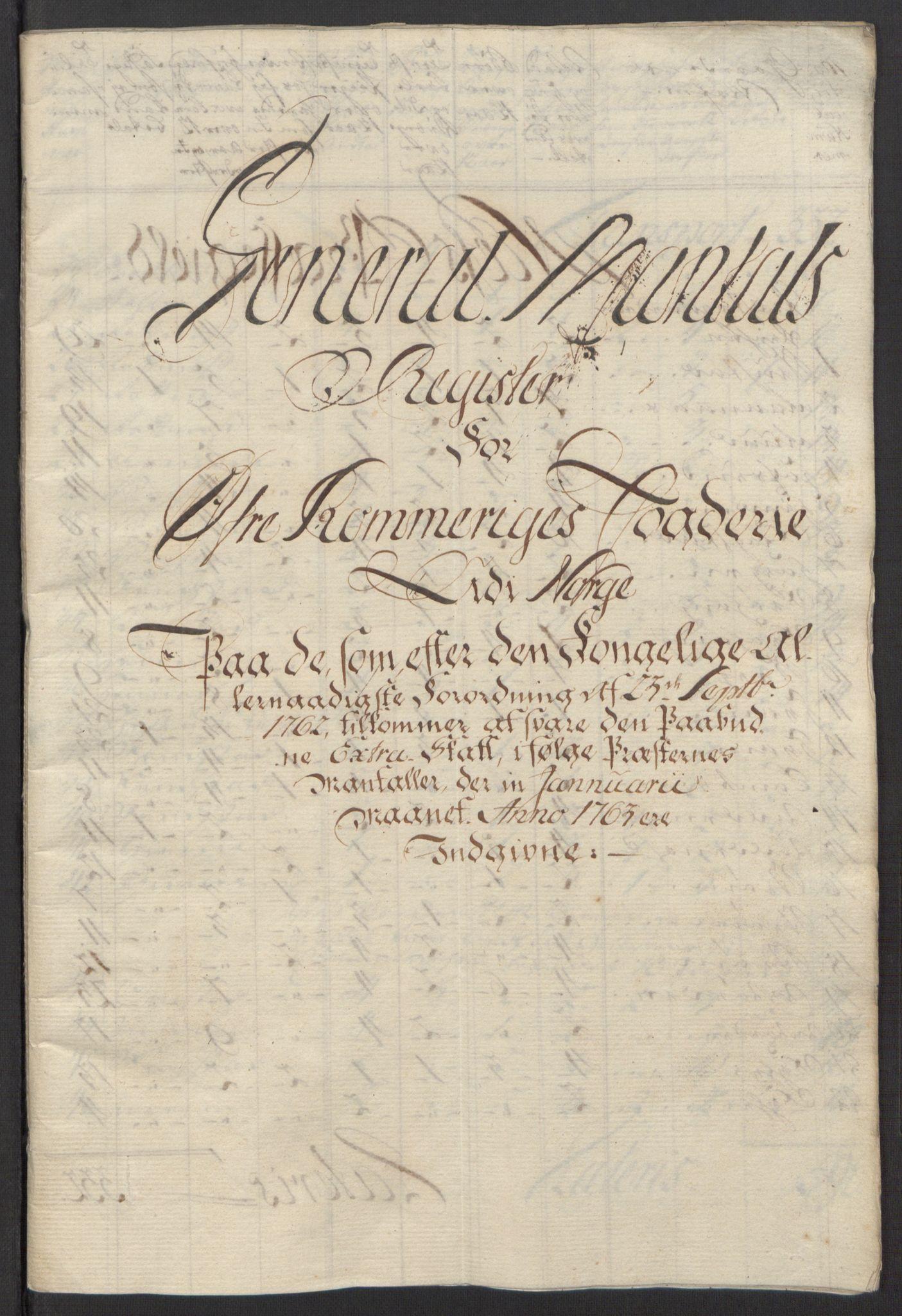RA, Rentekammeret inntil 1814, Reviderte regnskaper, Fogderegnskap, R12/L0803: Ekstraskatten Øvre Romerike, 1763-1764, s. 16