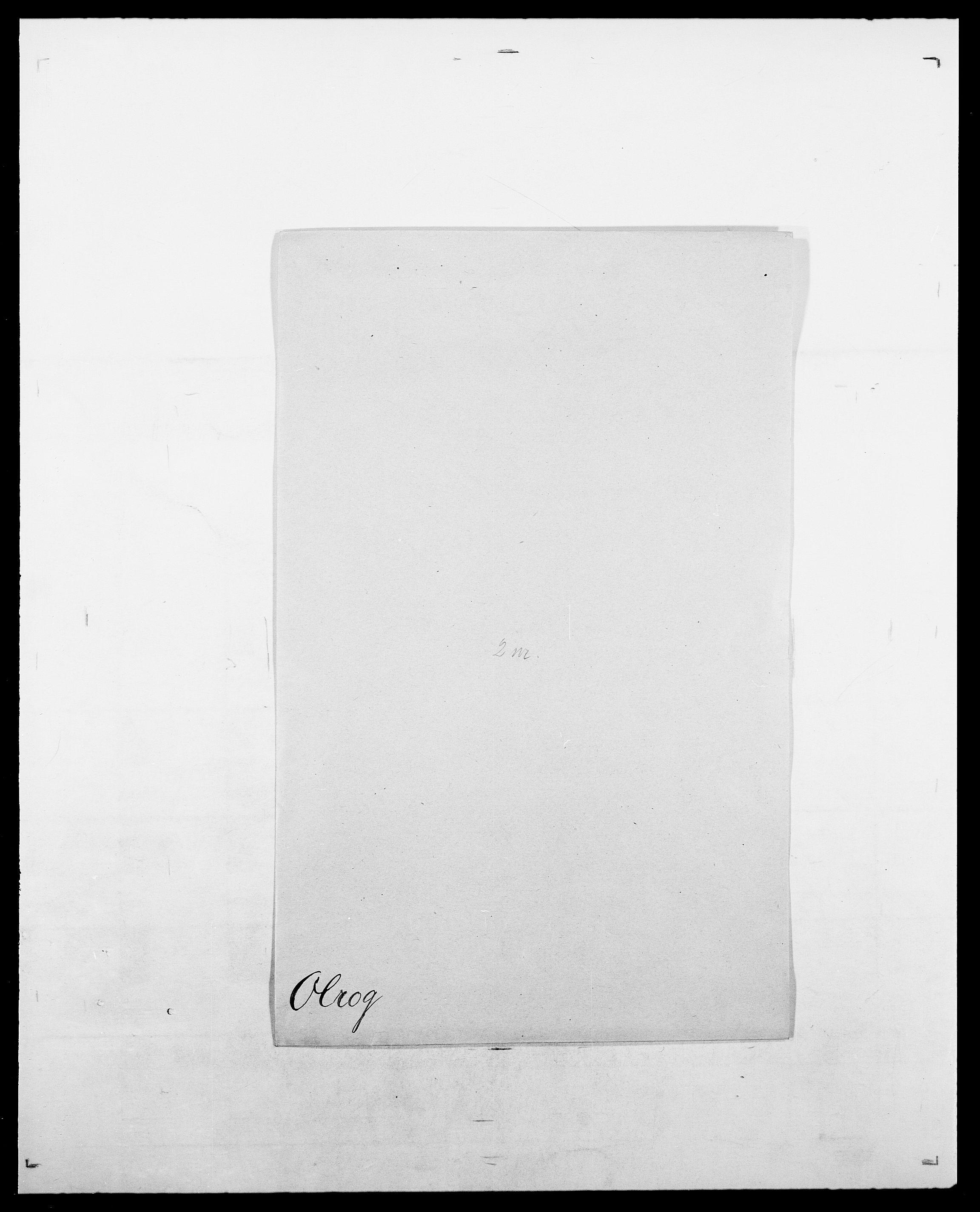 SAO, Delgobe, Charles Antoine - samling, D/Da/L0029: Obel - Oxholm, s. 162