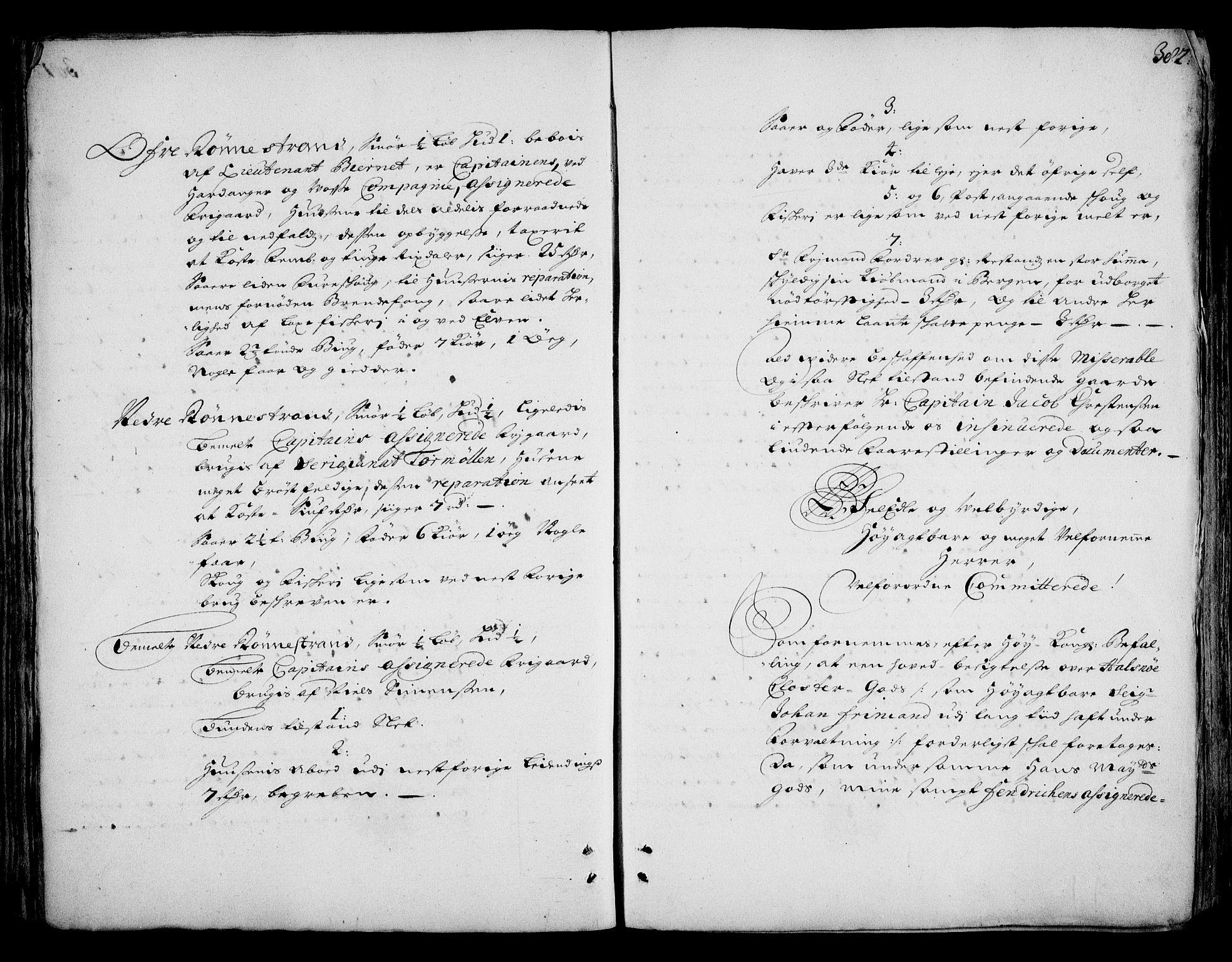 RA, Rentekammeret inntil 1814, Realistisk ordnet avdeling, On/L0002: [Jj 3]: Besiktigelsesforretninger over Halsnøy klosters gods, 1659-1703, s. 381b-382a