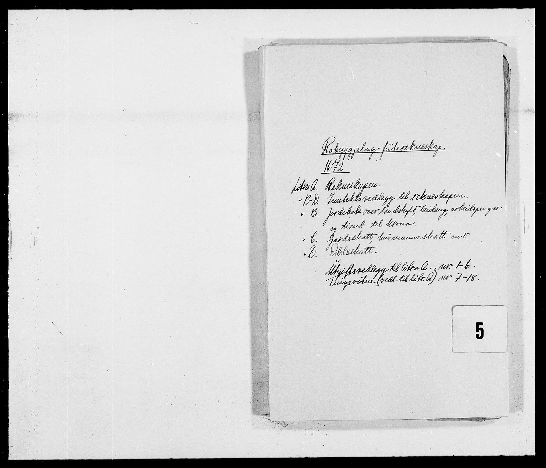 RA, Rentekammeret inntil 1814, Reviderte regnskaper, Fogderegnskap, R40/L2433: Fogderegnskap Råbyggelag, 1671-1674, s. 89