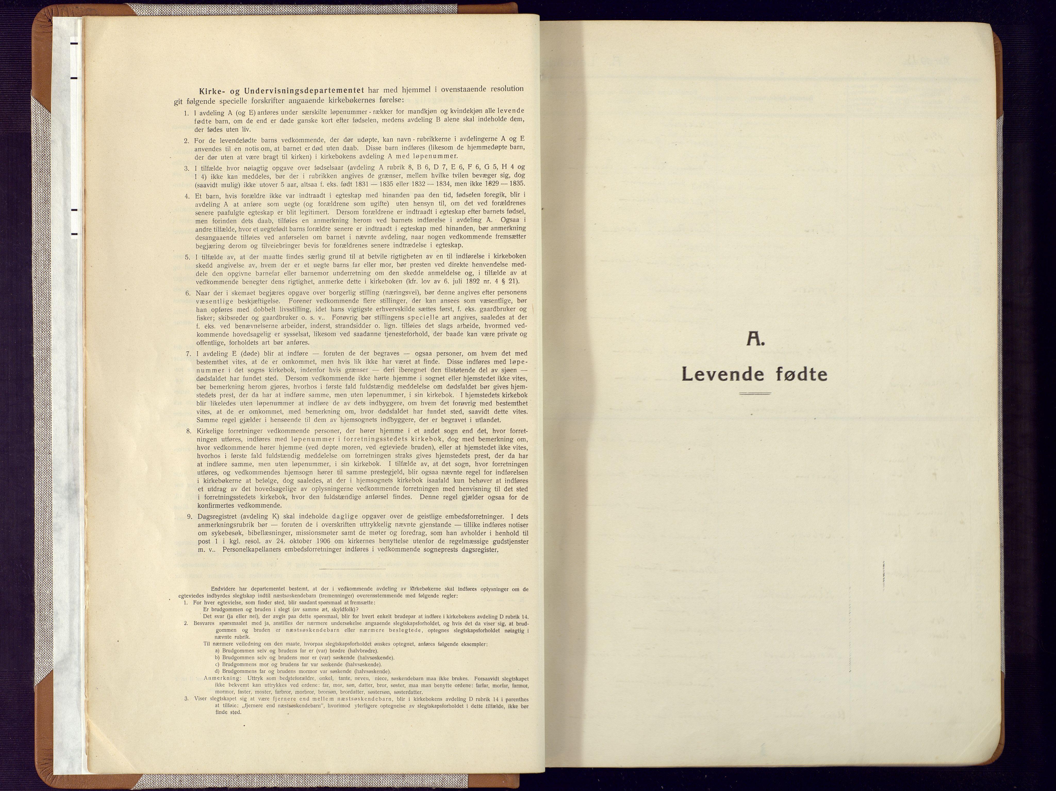 SAK, Mandal sokneprestkontor, F/Fa/Faa/L0022: Ministerialbok nr. A 22, 1913-1925