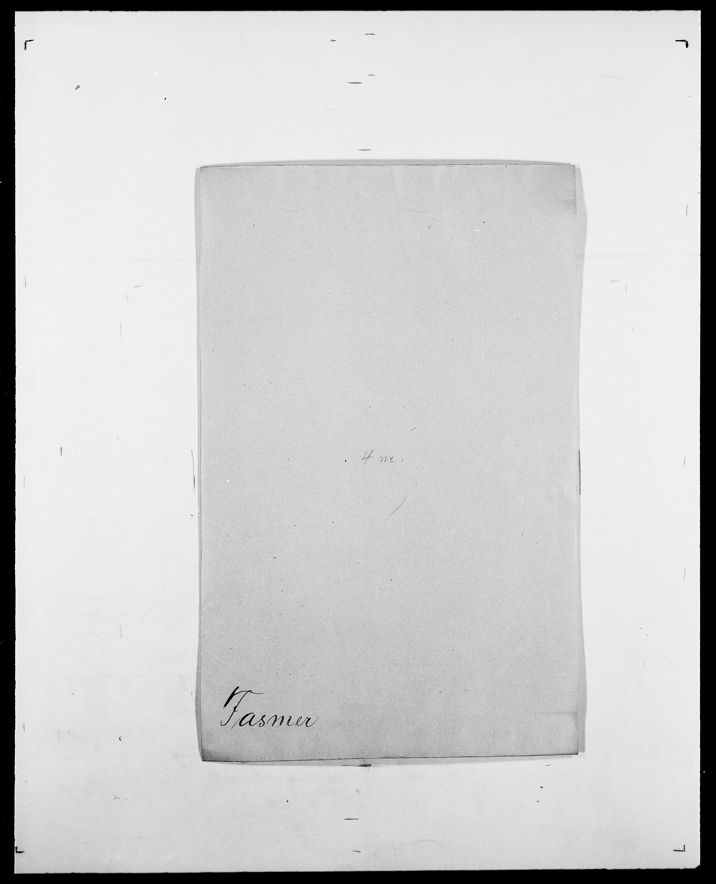 SAO, Delgobe, Charles Antoine - samling, D/Da/L0011: Fahlander - Flood, Flod, s. 190