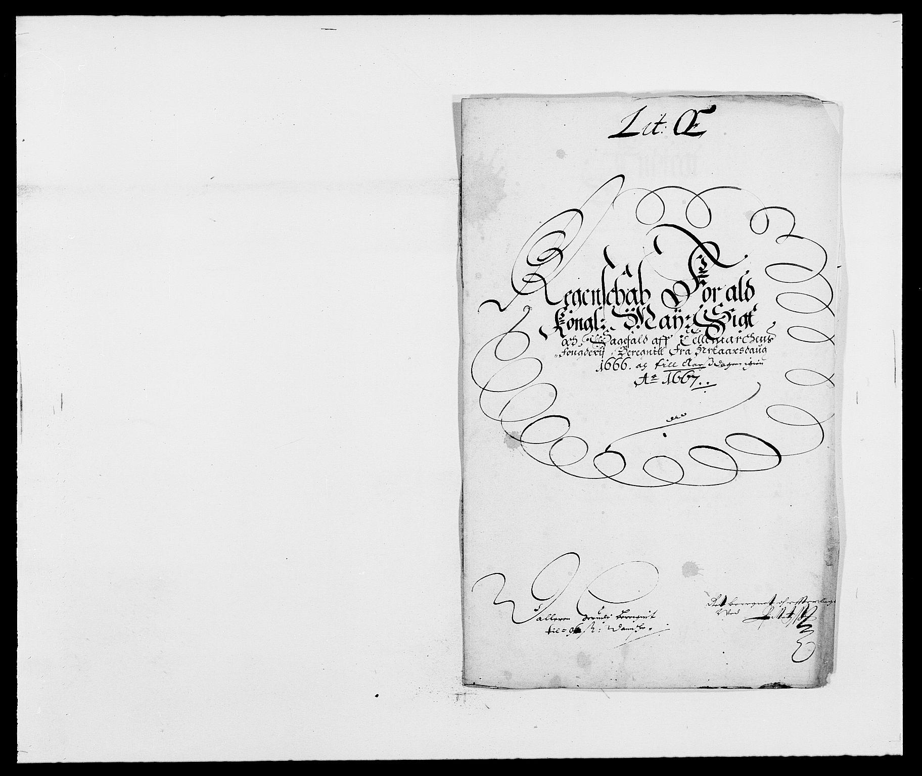 RA, Rentekammeret inntil 1814, Reviderte regnskaper, Fogderegnskap, R35/L2057: Fogderegnskap Øvre og Nedre Telemark, 1666-1667, s. 253