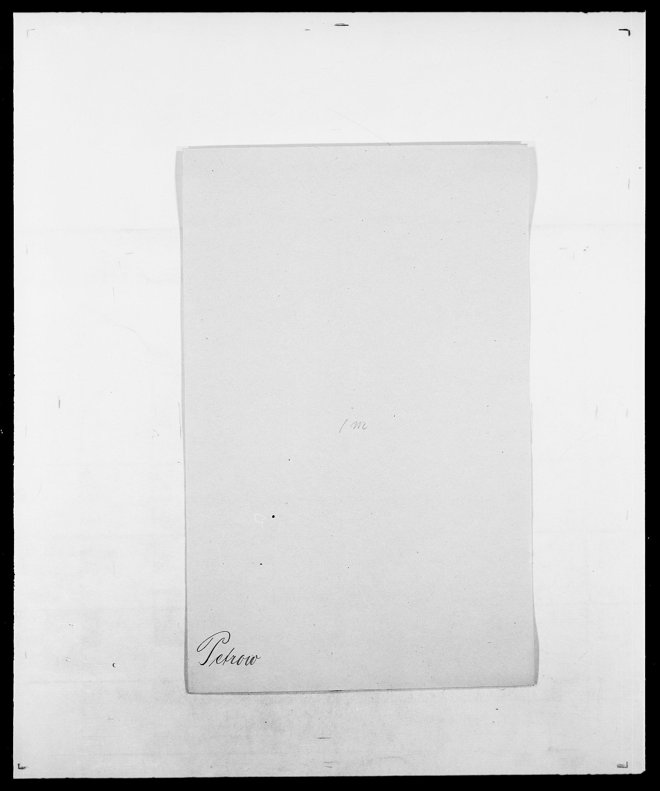 SAO, Delgobe, Charles Antoine - samling, D/Da/L0030: Paars - Pittelkov, s. 461
