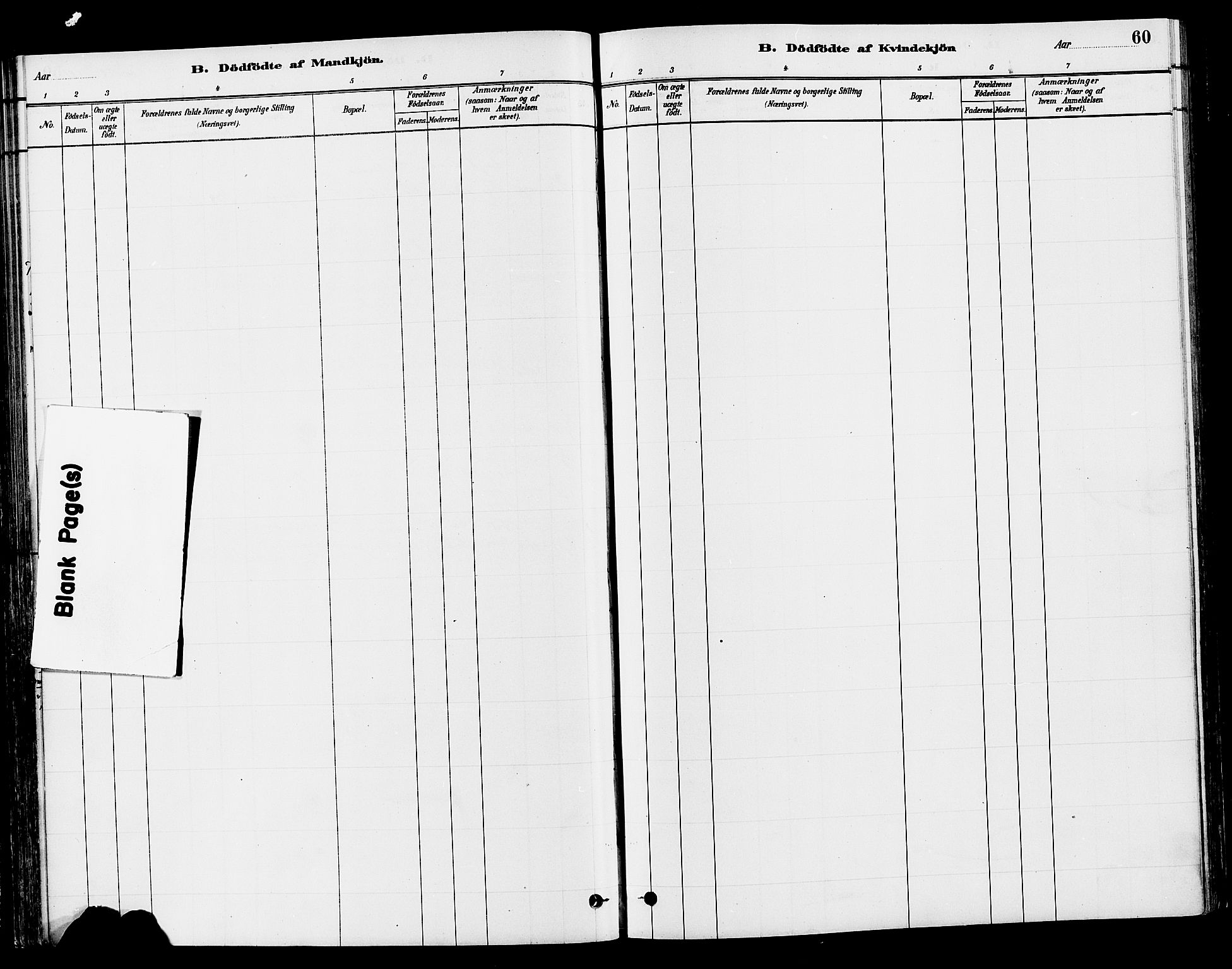 SAH, Gran prestekontor, Ministerialbok nr. 15, 1880-1888, s. 60