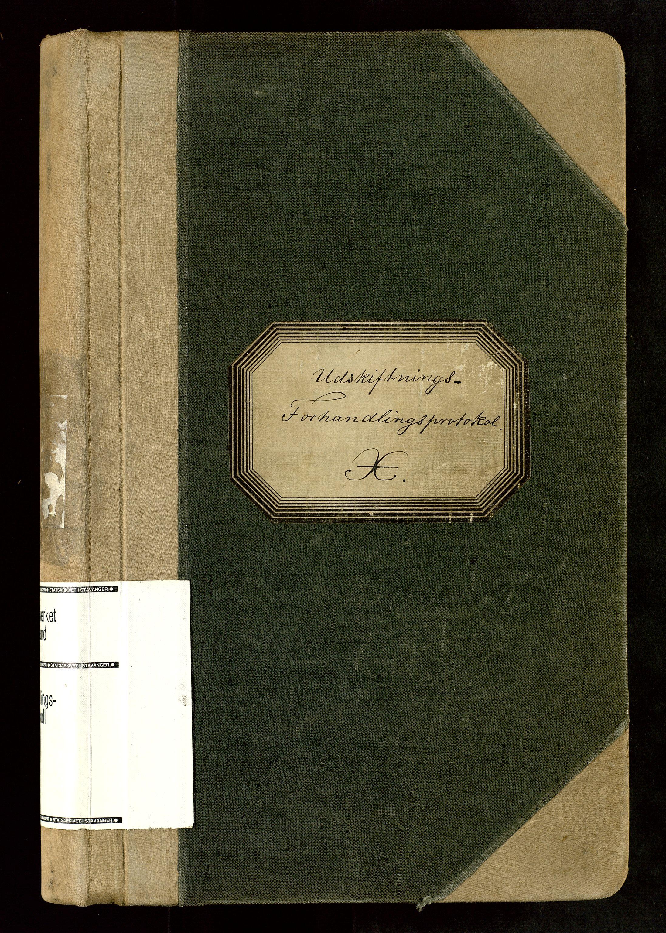 SAST, Rogaland jordskifterett, Oa/L0063: Forhandlingsprotokoll, 1905-1908