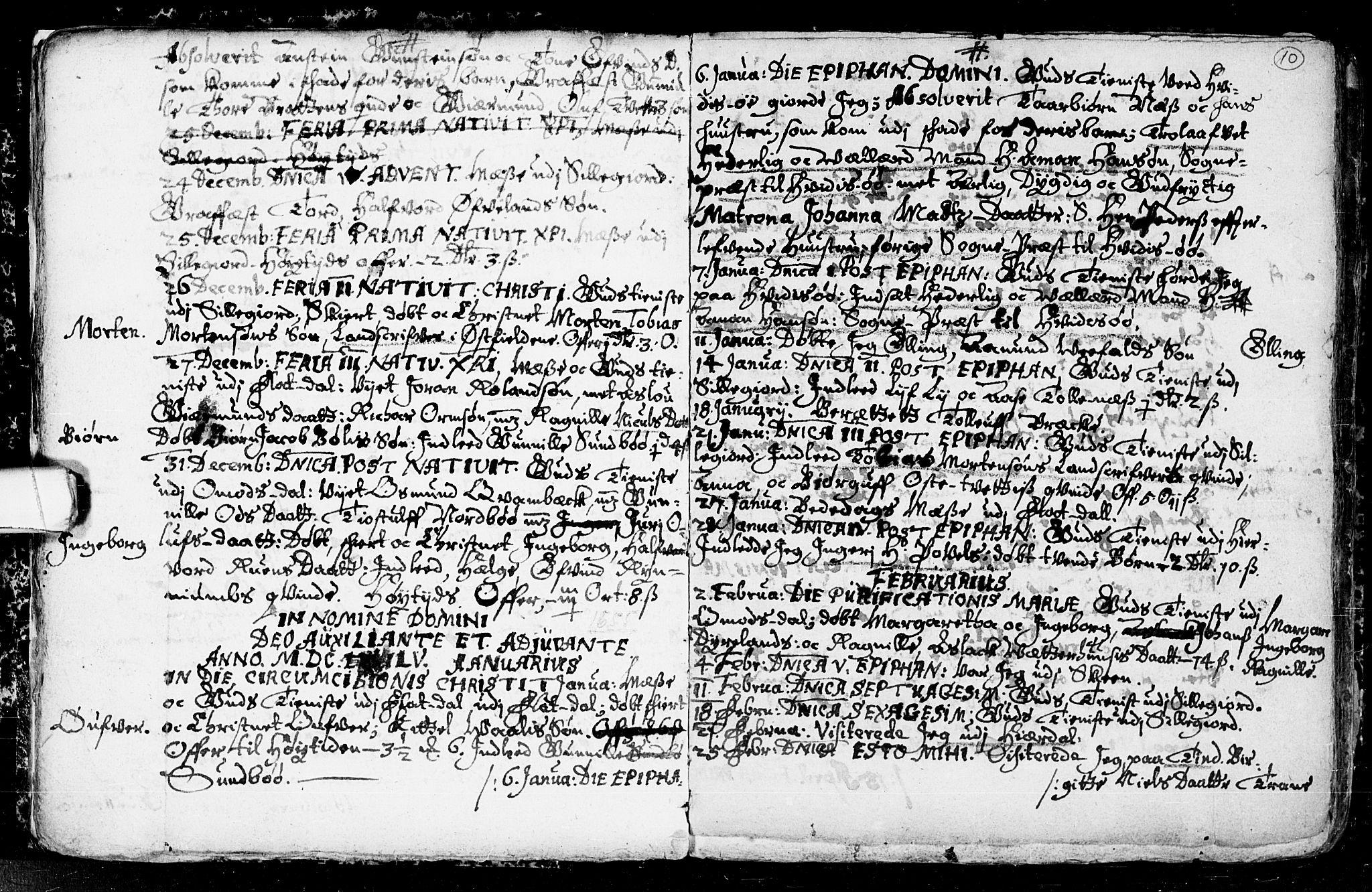 SAKO, Seljord kirkebøker, F/Fa/L0001: Ministerialbok nr. I 1, 1654-1686, s. 10