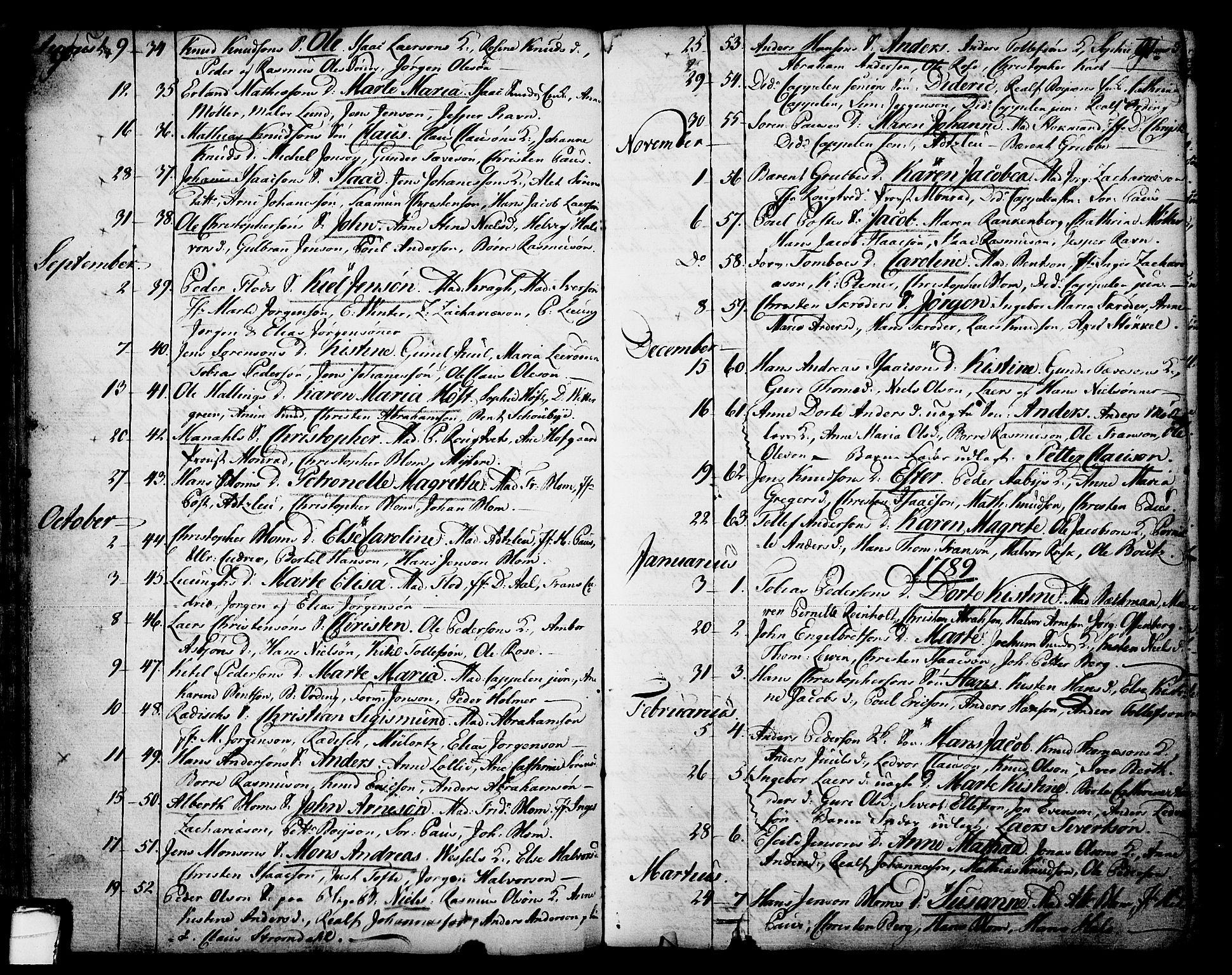 SAKO, Skien kirkebøker, F/Fa/L0003: Ministerialbok nr. 3, 1755-1791, s. 90-91