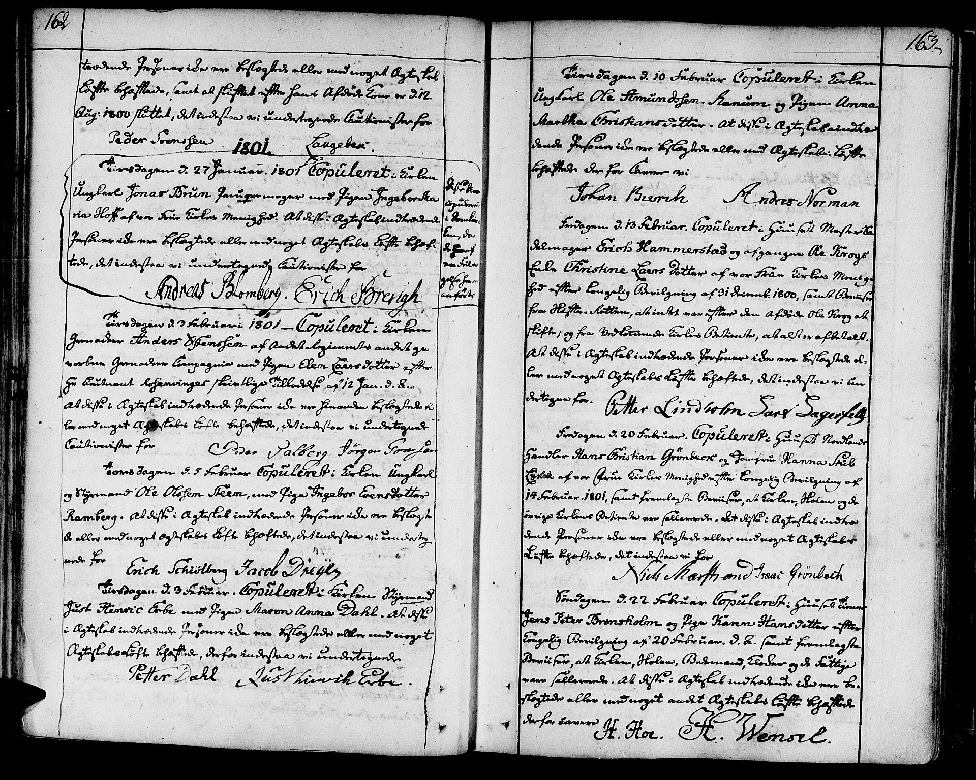 SAT, Ministerialprotokoller, klokkerbøker og fødselsregistre - Sør-Trøndelag, 602/L0105: Ministerialbok nr. 602A03, 1774-1814, s. 162-163