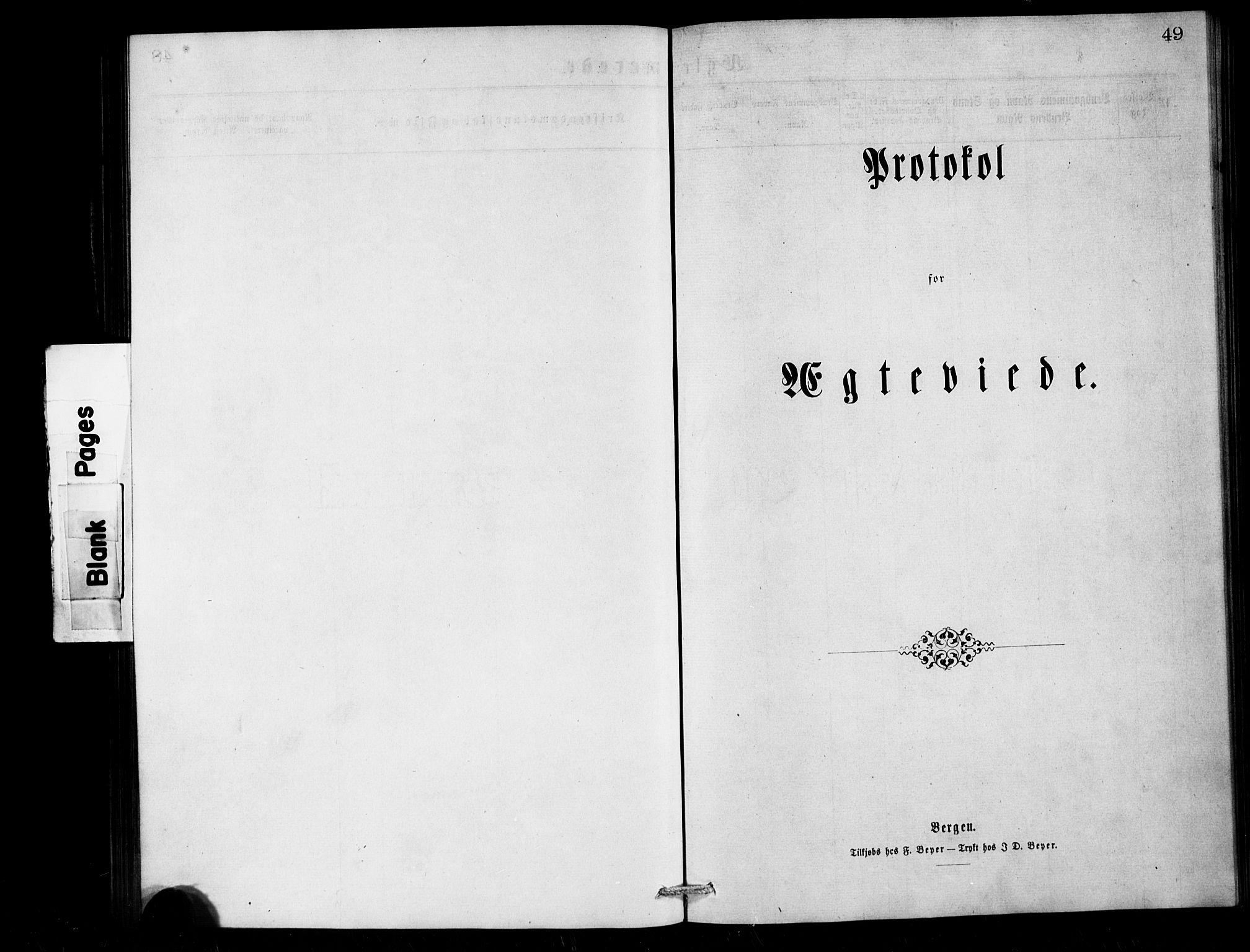 SAB,  Den norske sjømannsmisjon i utlandet/London m/bistasjoner, H/Ha/L0001: Ministerialbok nr. A 1, 1868-1887, s. 49