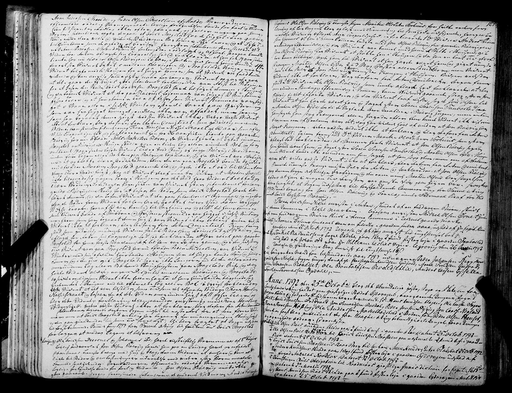 SAT, Romsdal sorenskriveri, 1/1A/L0017: Tingbok, 1789-1803, s. 126b-127a