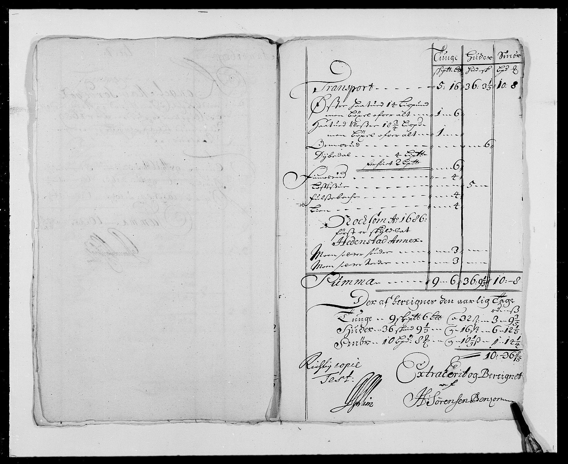 RA, Rentekammeret inntil 1814, Reviderte regnskaper, Fogderegnskap, R24/L1573: Fogderegnskap Numedal og Sandsvær, 1687-1691, s. 376