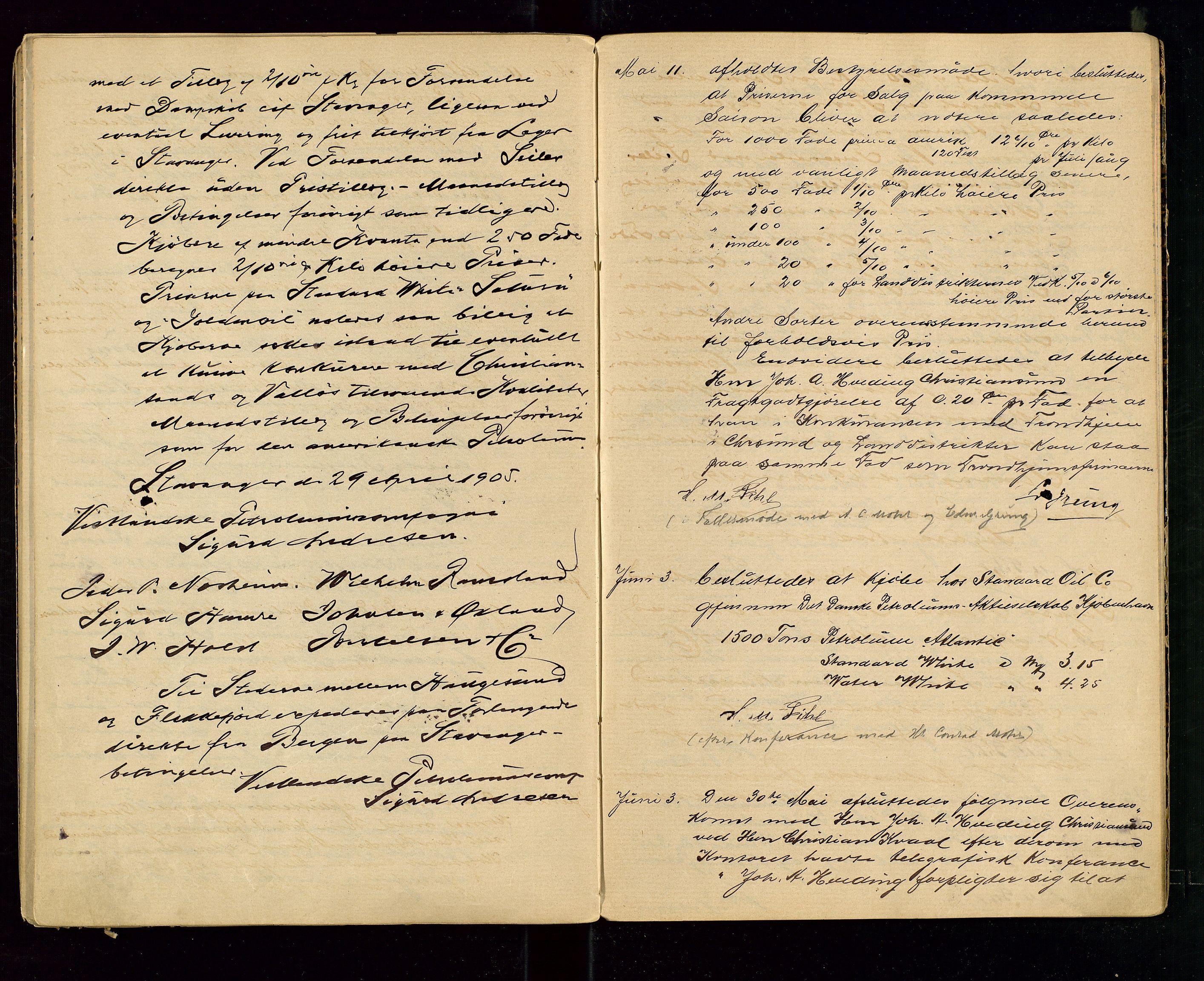 SAST, PA 1533 - A/S Vestlandske Petroleumscompani, A/Aa/L0001: Generalforsamlinger og styreprotokoller, 1890-1907, s. 57