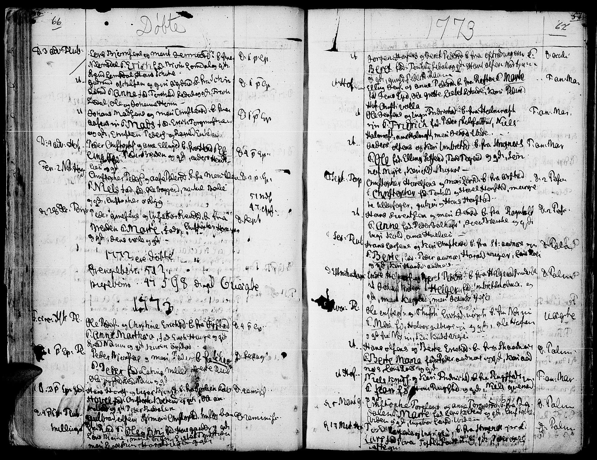 SAH, Land prestekontor, Ministerialbok nr. 5, 1765-1784, s. 66-67