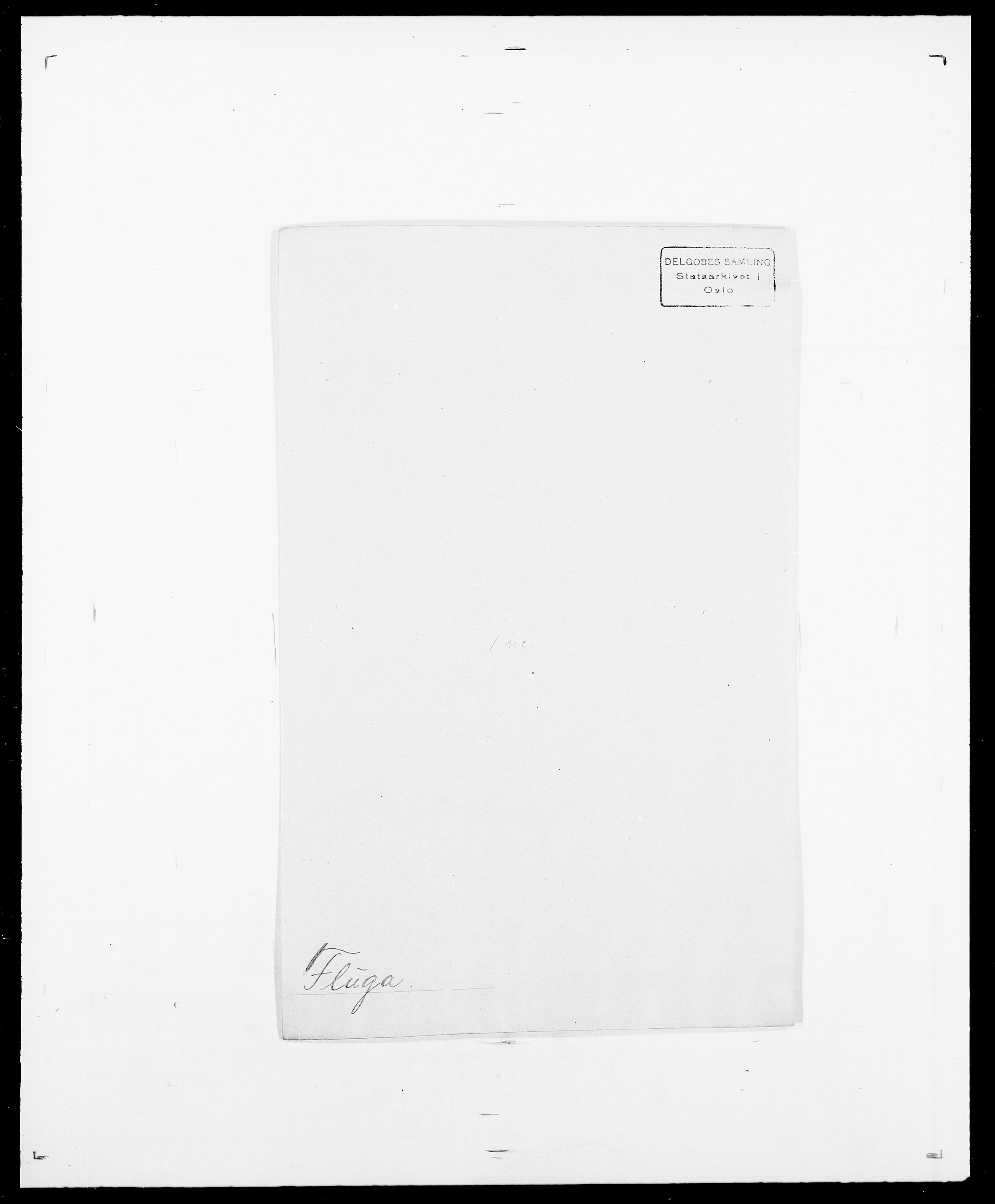 SAO, Delgobe, Charles Antoine - samling, D/Da/L0012: Flor, Floer, Flohr - Fritzner, s. 482