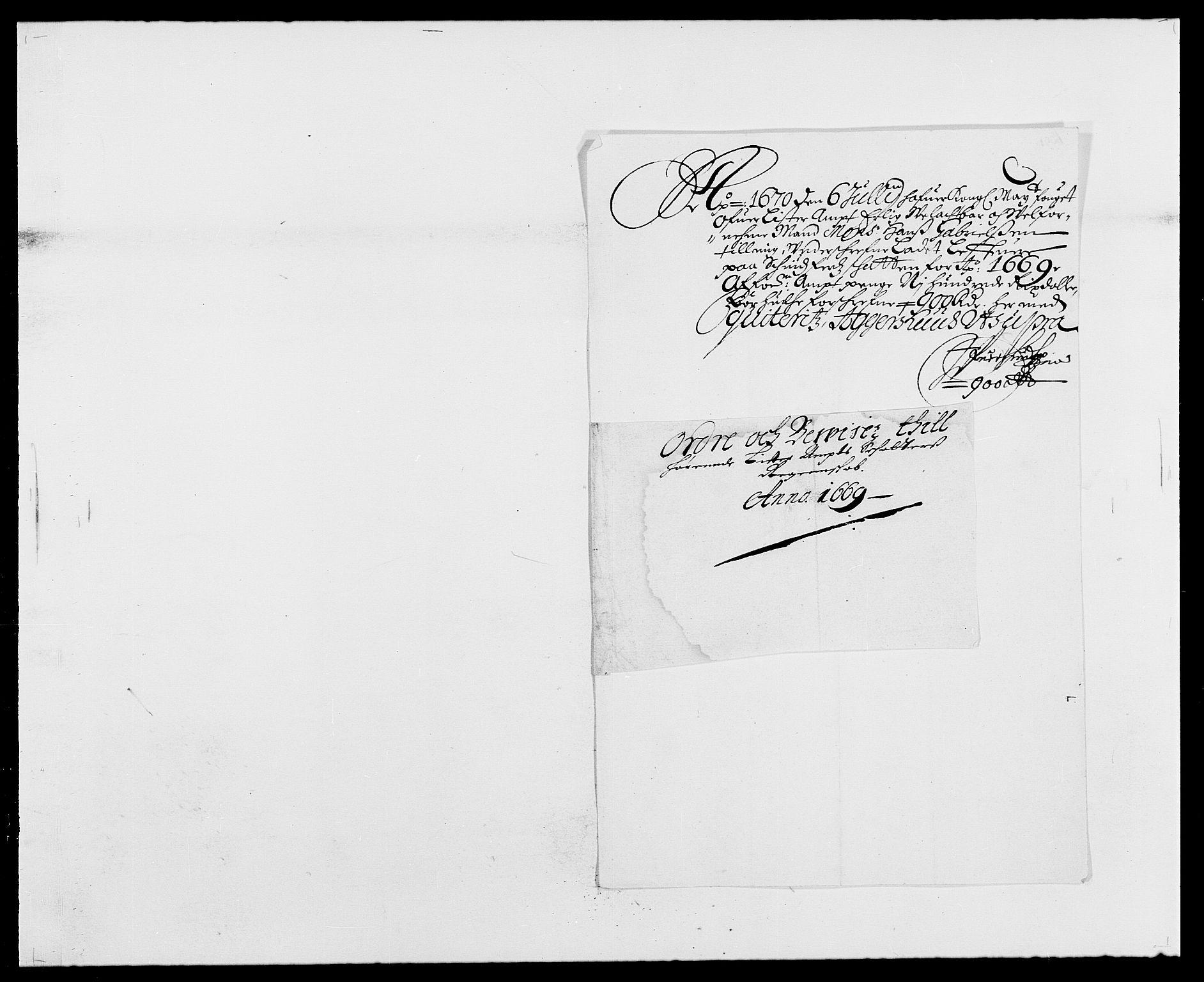 RA, Rentekammeret inntil 1814, Reviderte regnskaper, Fogderegnskap, R41/L2525: Fogderegnskap Lista, 1669-1671, s. 75