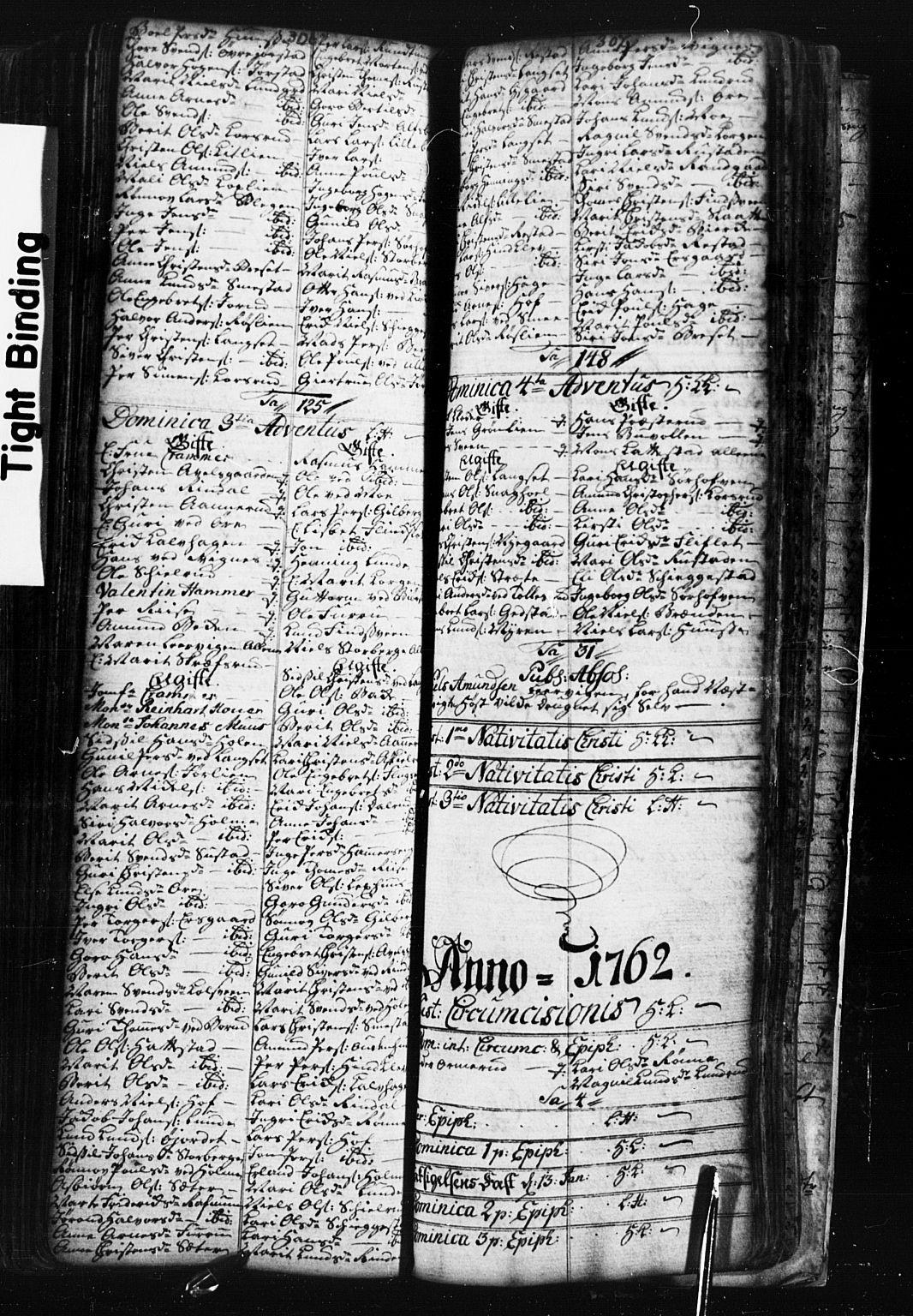 SAH, Fåberg prestekontor, Klokkerbok nr. 1, 1727-1767, s. 306-307