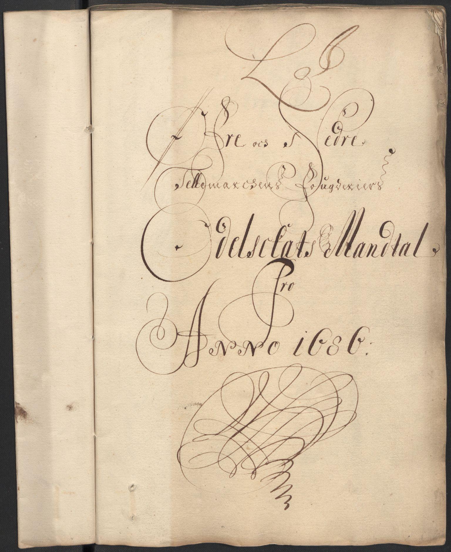 RA, Rentekammeret inntil 1814, Reviderte regnskaper, Fogderegnskap, R35/L2083: Fogderegnskap Øvre og Nedre Telemark, 1686, s. 219