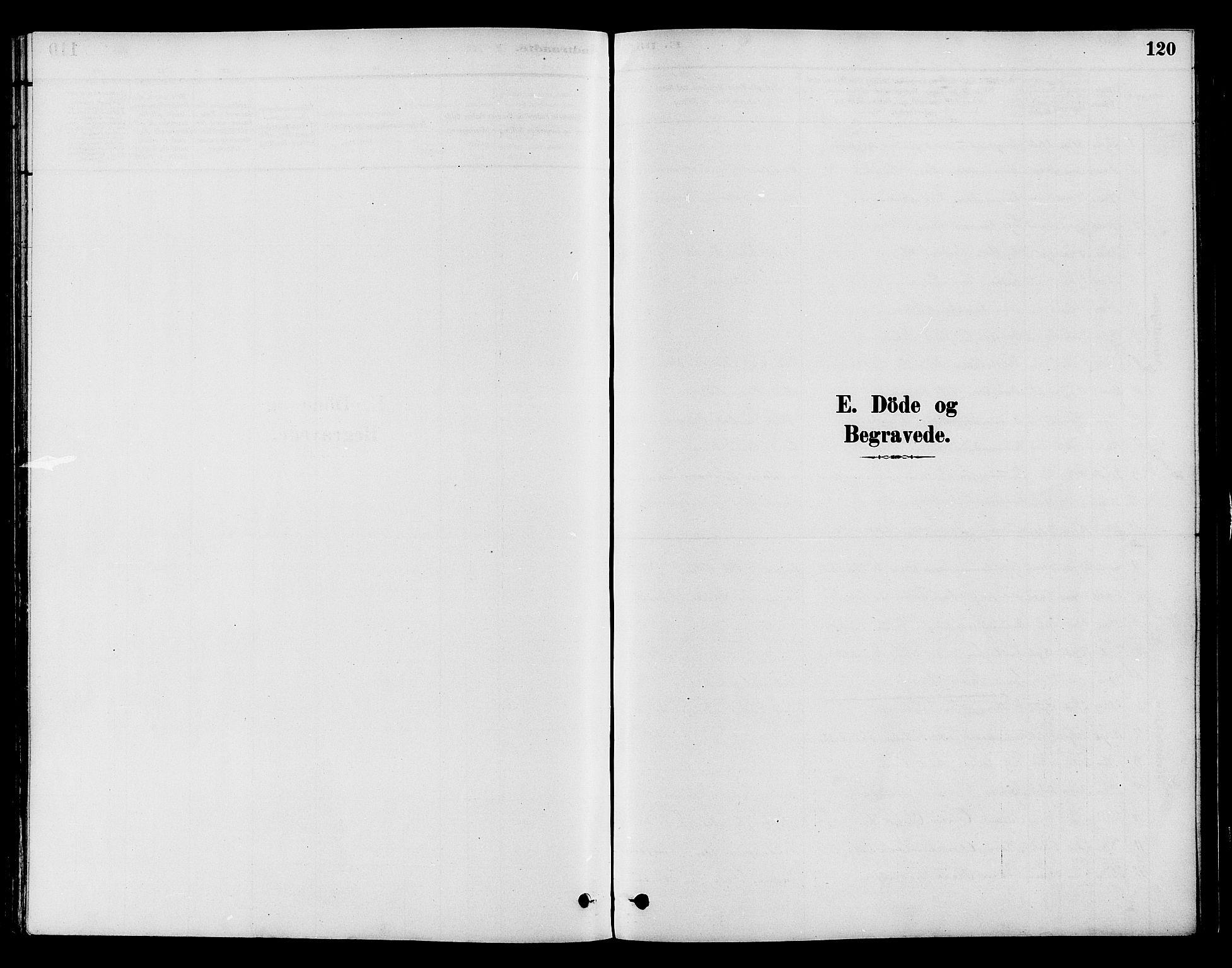 SAH, Gran prestekontor, Ministerialbok nr. 15, 1880-1888, s. 120