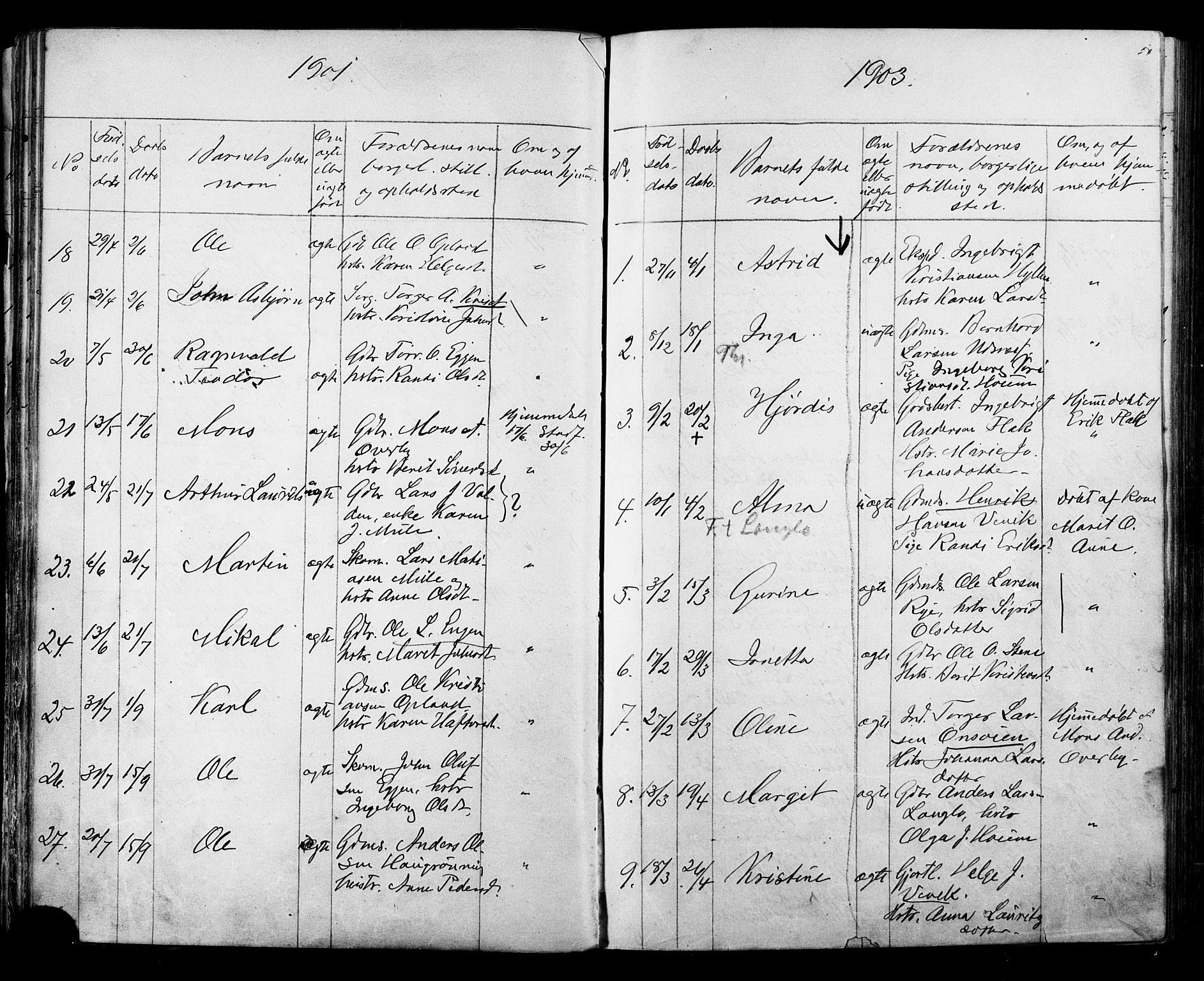 SAT, Ministerialprotokoller, klokkerbøker og fødselsregistre - Sør-Trøndelag, 612/L0387: Klokkerbok nr. 612C03, 1874-1908, s. 56