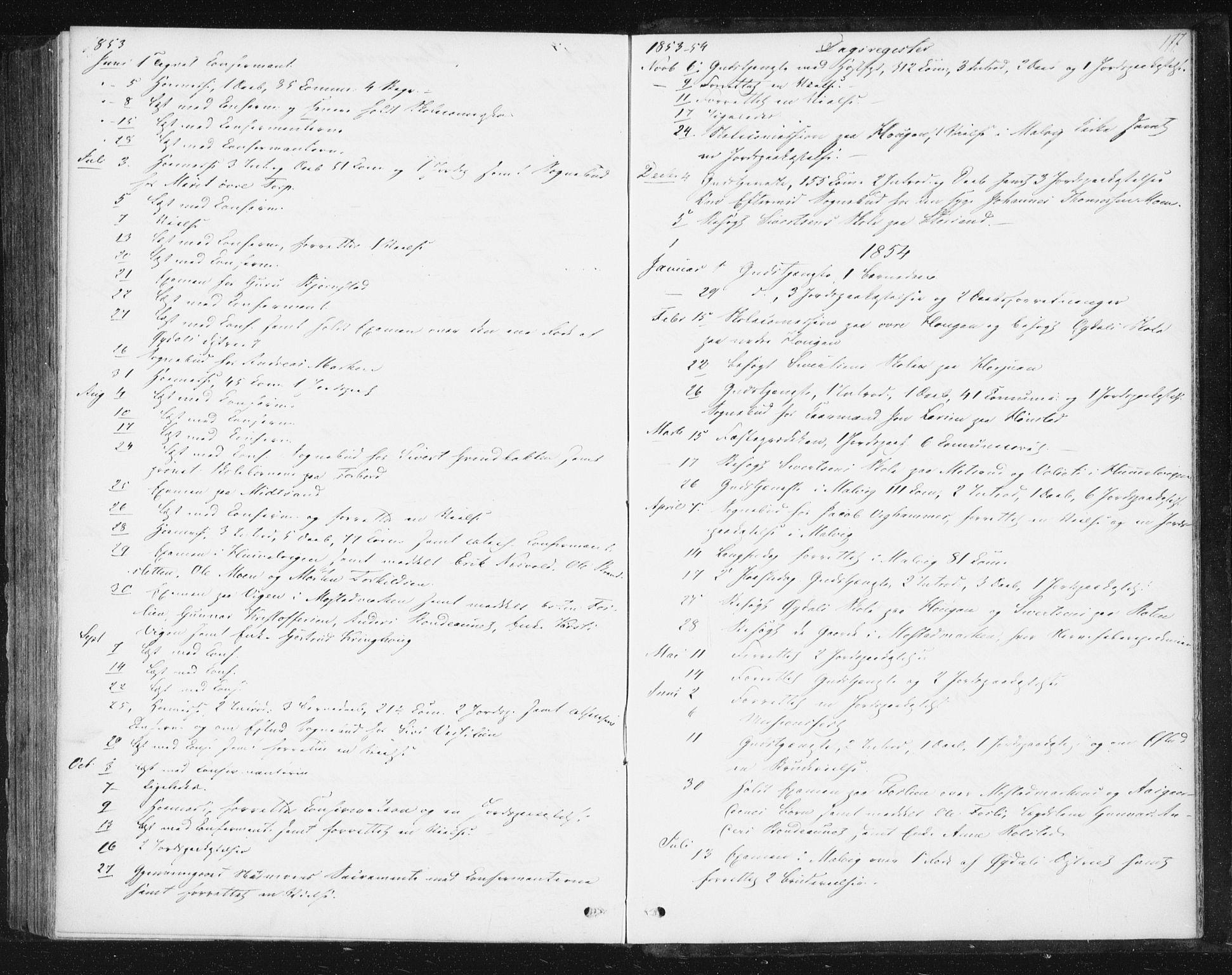 SAT, Ministerialprotokoller, klokkerbøker og fødselsregistre - Sør-Trøndelag, 616/L0407: Ministerialbok nr. 616A04, 1848-1856, s. 177